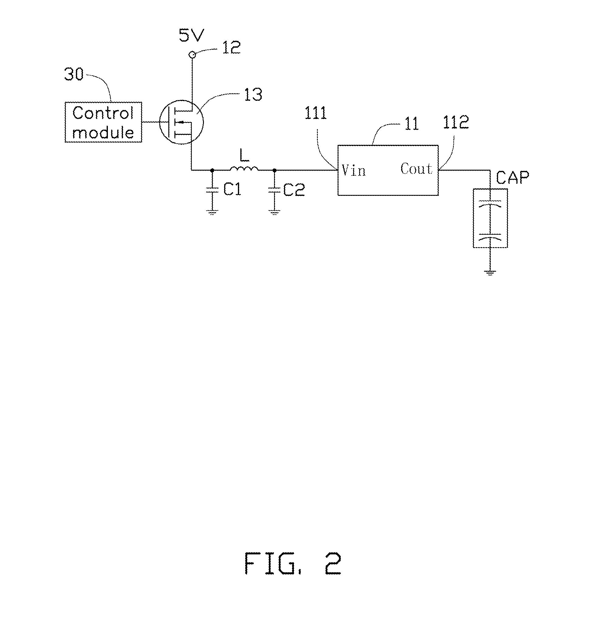 Patente Us20130116956 Capacitance Measurement Circuit Google Adjustable Regulator By Tl431 Patent Drawing