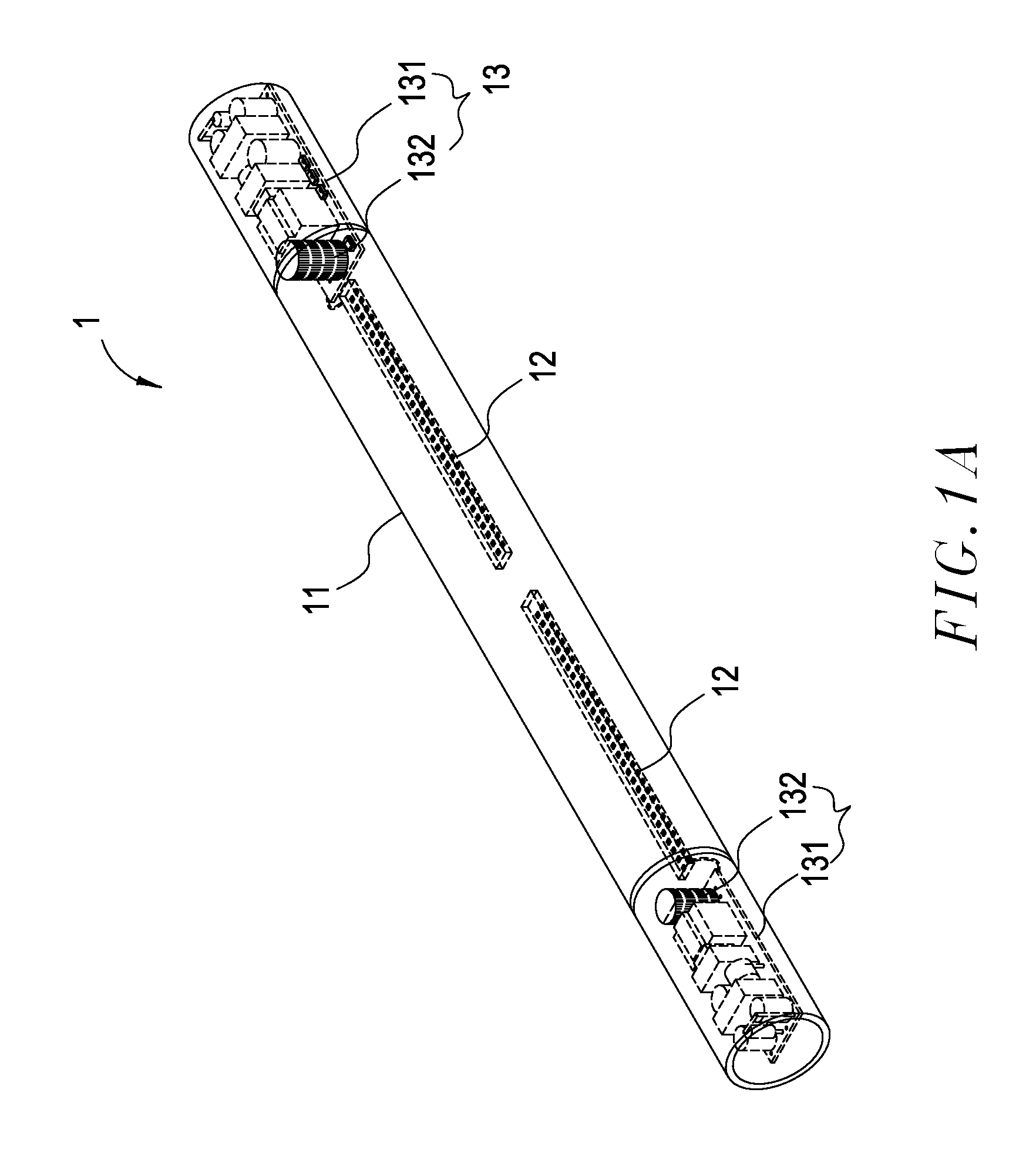 patent us20130127338 - drive circuit structure for led lamp tube