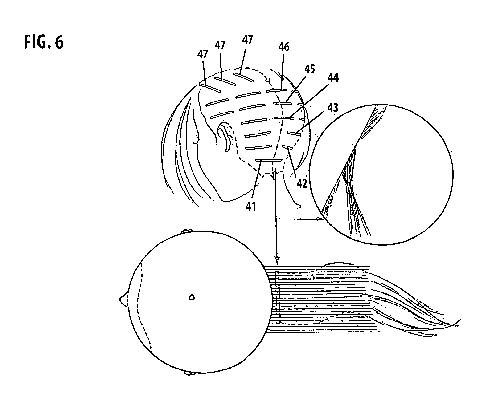 Patent us20130133680 hair extension system and method google patent drawing pmusecretfo Choice Image