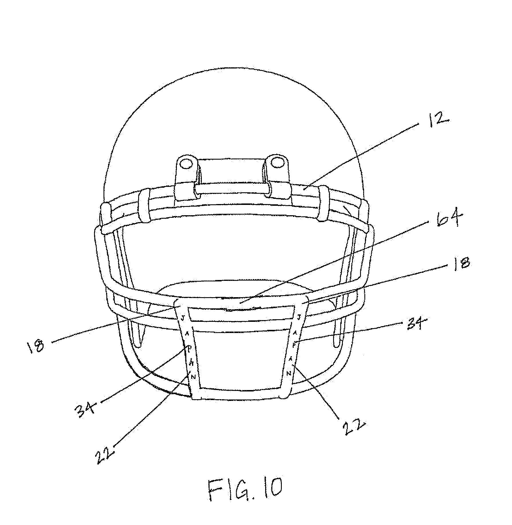 Helmets Drawings Helmet Front Drawing