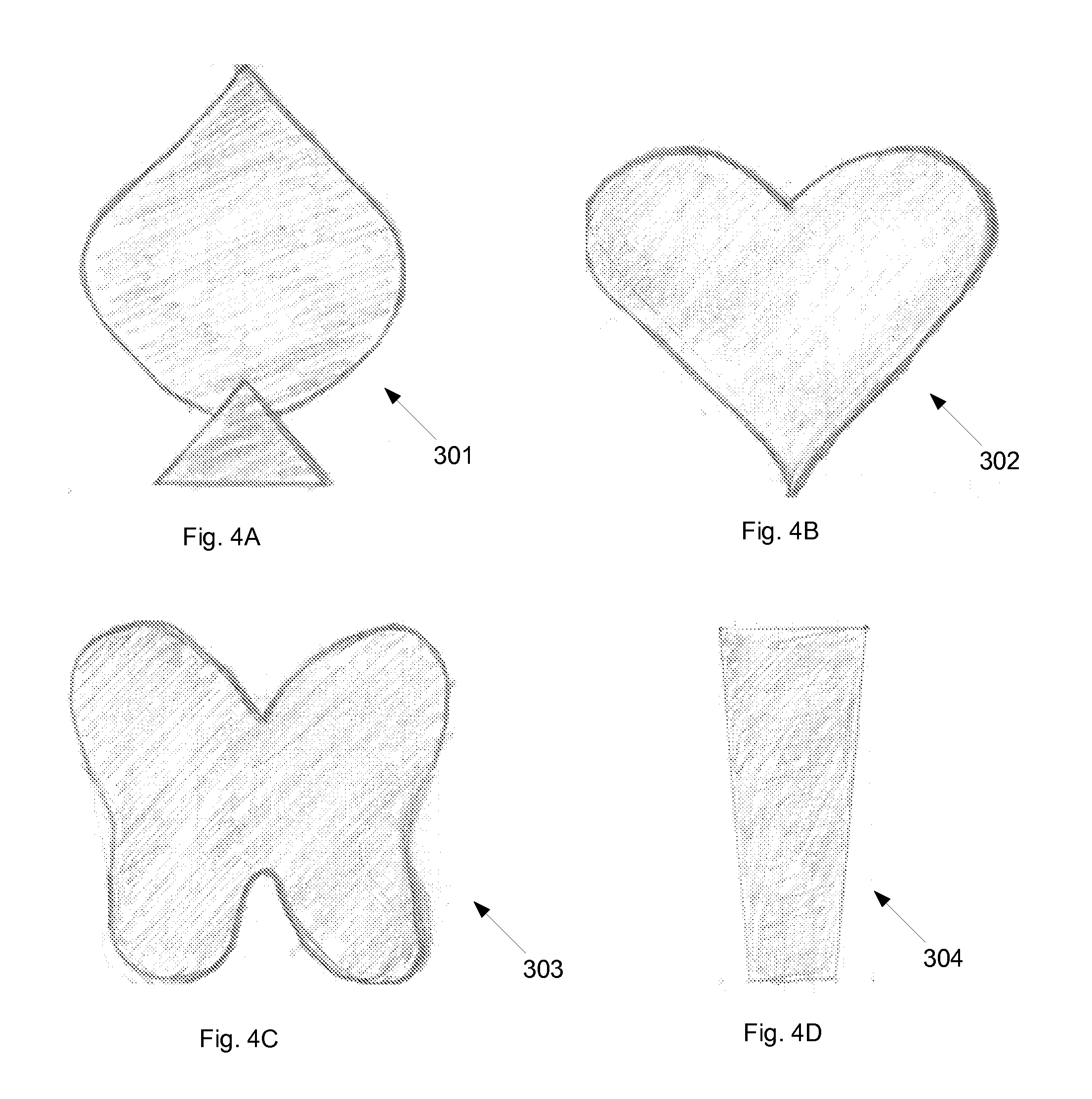 Ingrown pubic hair - Patent Drawing