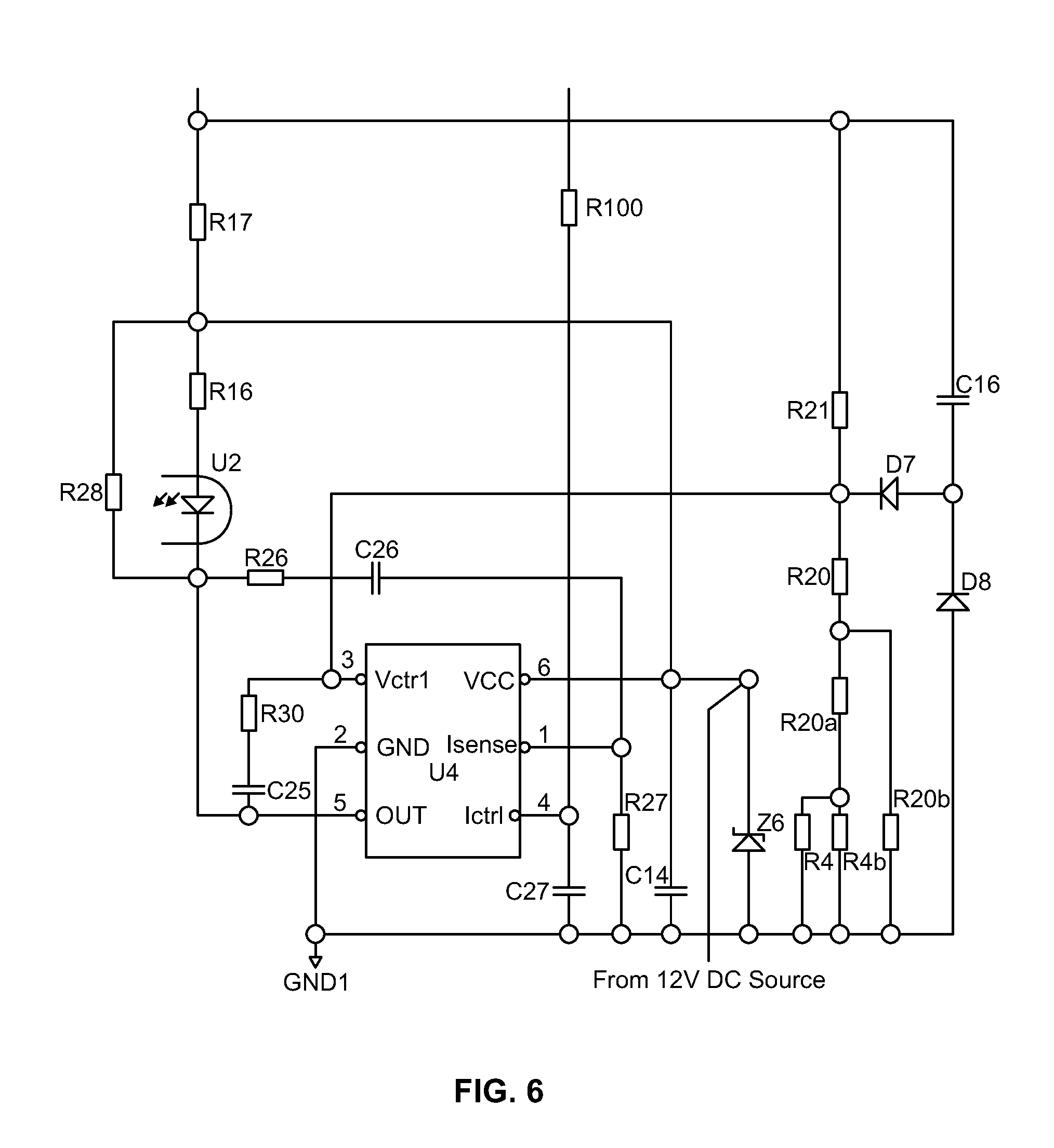 patent us20130141004 - led driver protection circuit