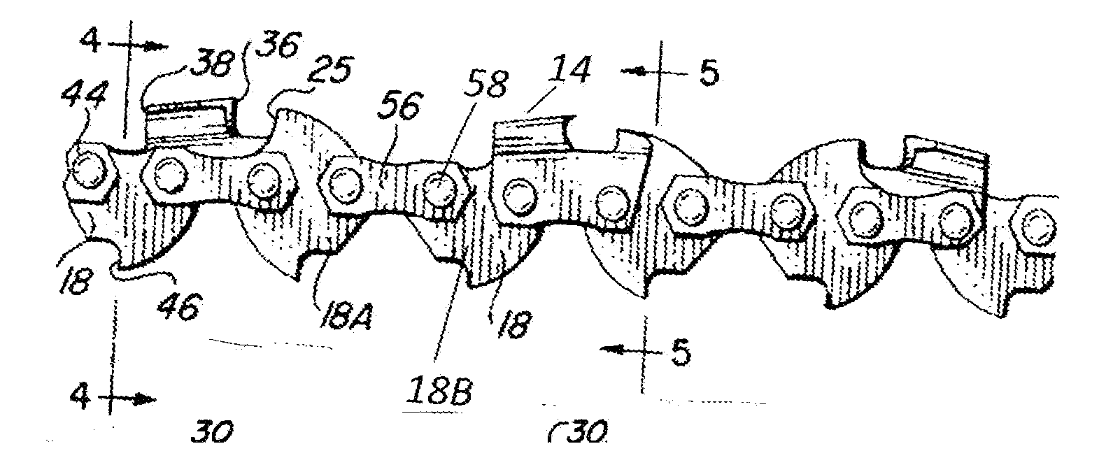 Patent us20130152760 bi directional chainsaw chain google patents patent drawing greentooth Images