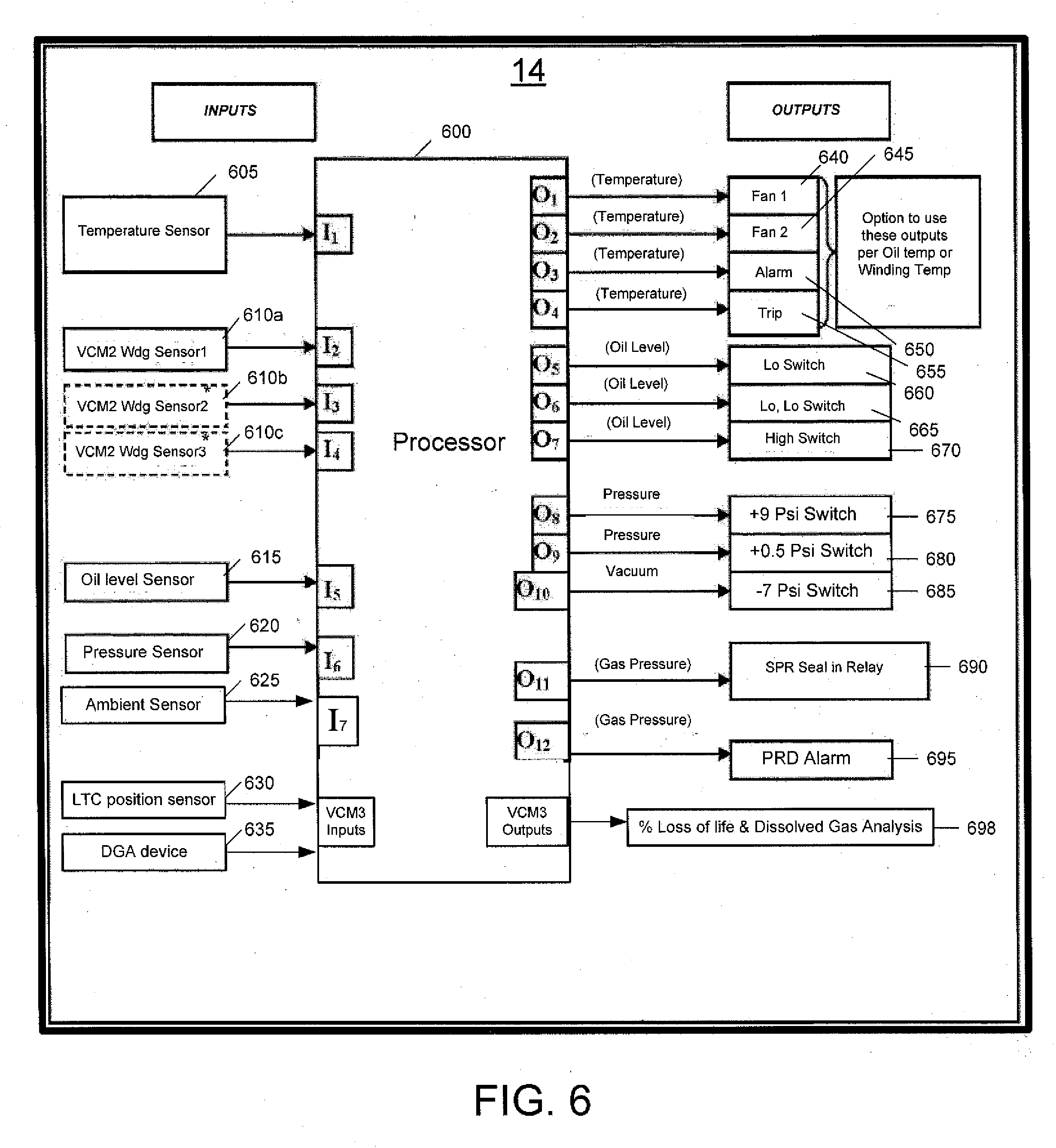 US20130158897A1 20130620 D00006 patent us20130158897 system and method for monitoring and qualitrol liquid level gauge wiring diagram at bakdesigns.co