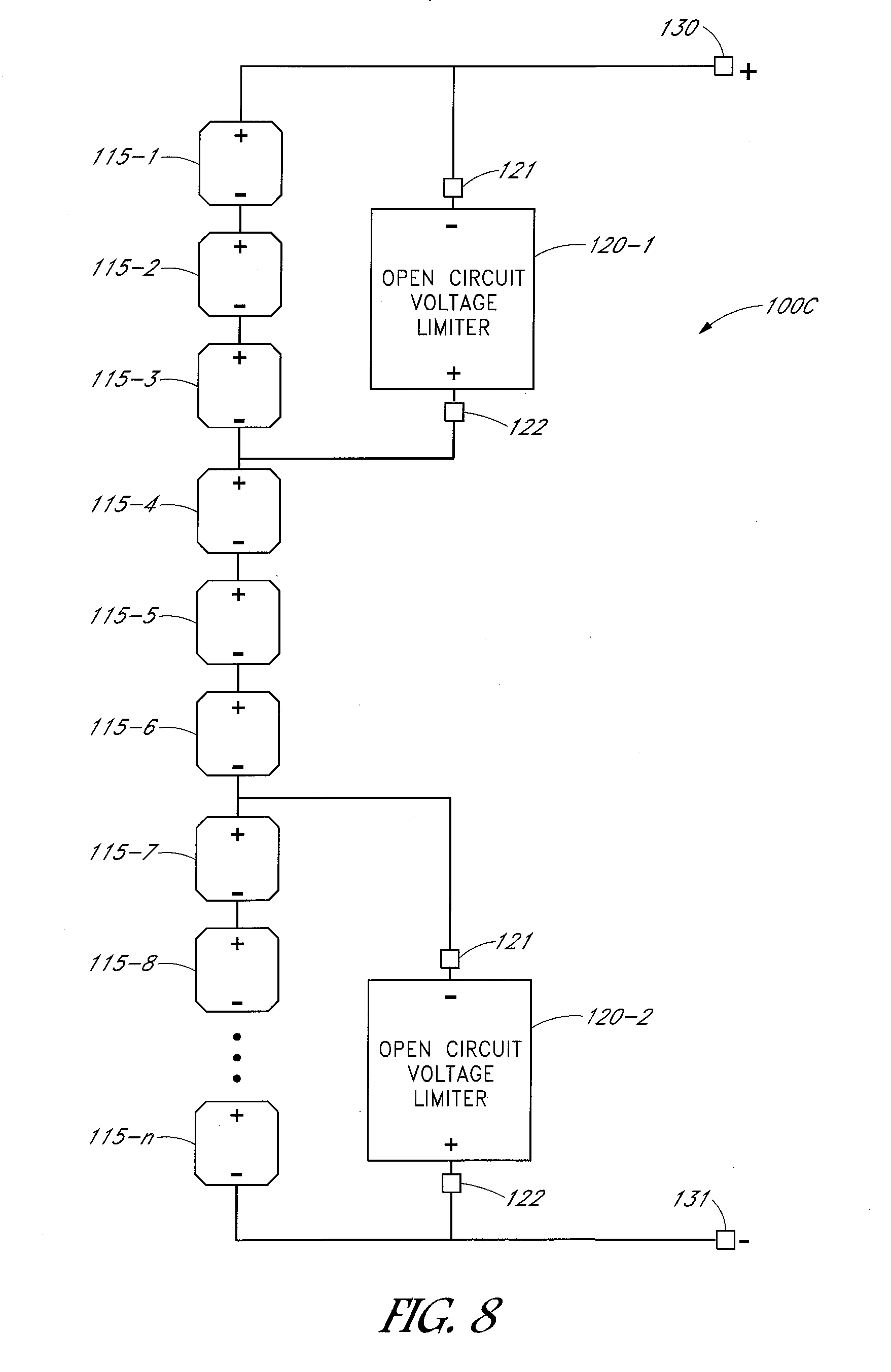 Patent Us20130163137 Circuits And Methods For Limiting Open Circuit Diagram Drawing