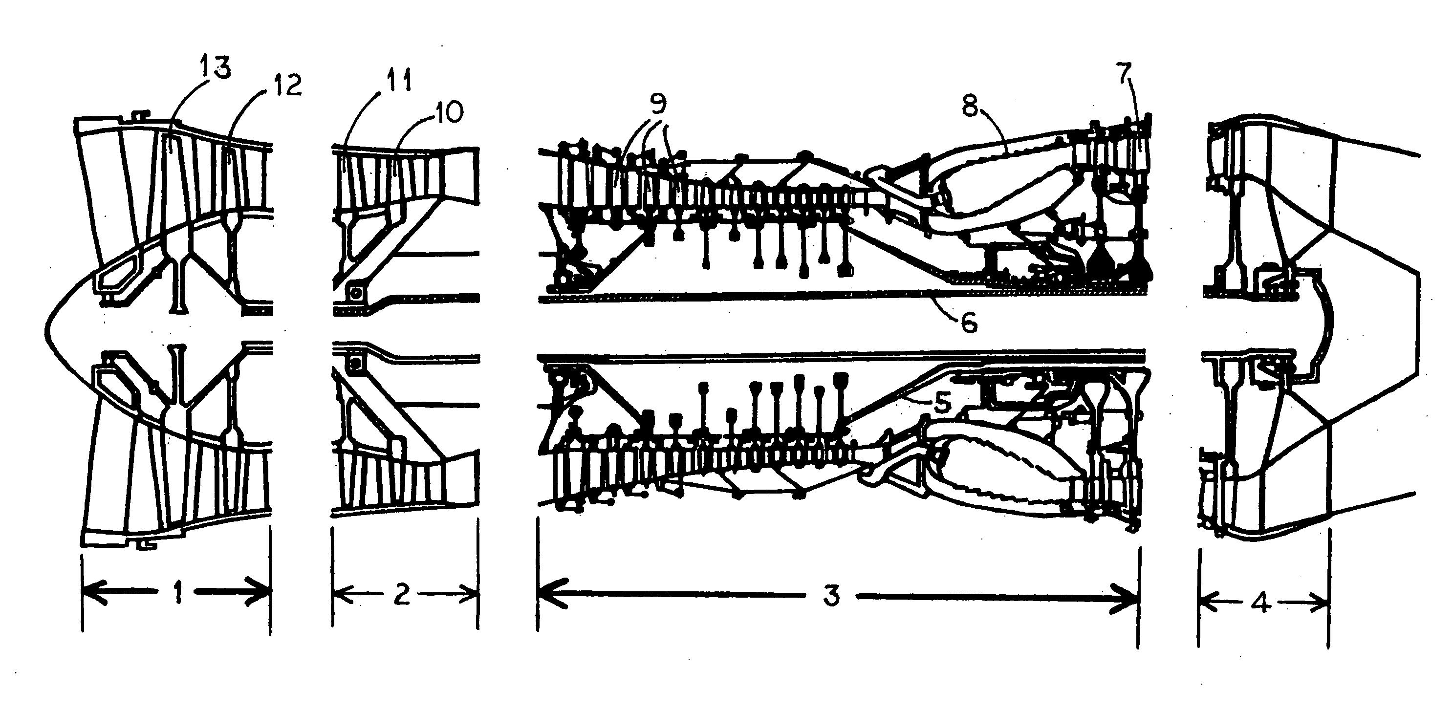 tf33 engine cutaway