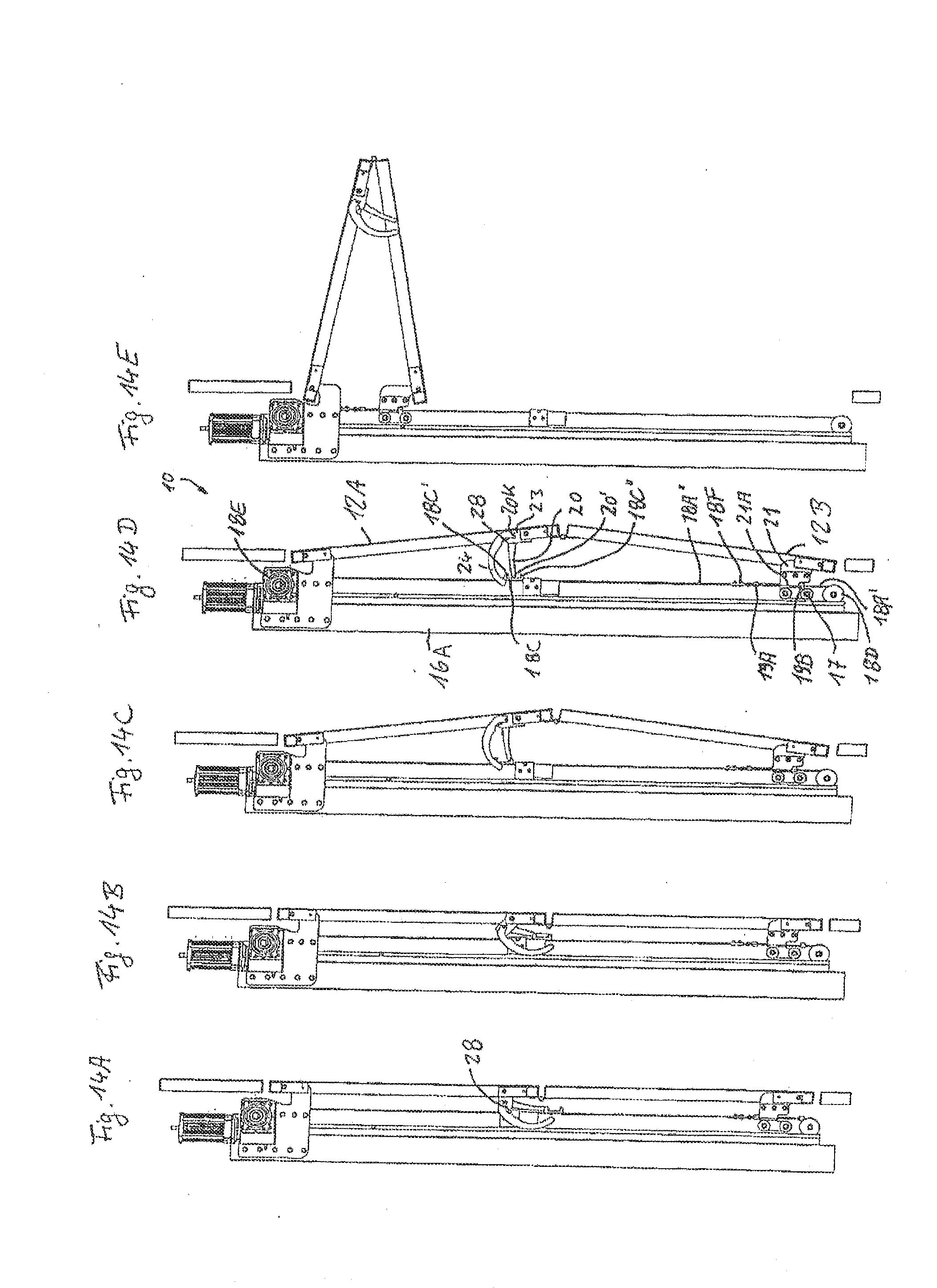 Patent Us20130213586 Folding Facade Or Folding Awning