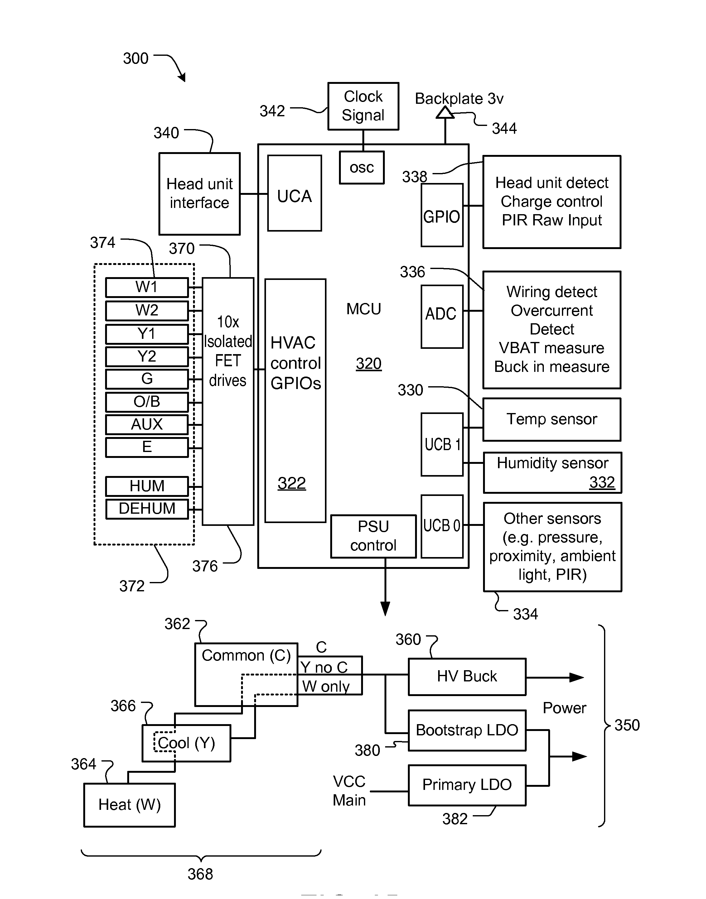 Patent Us20130221117 Power Management In Single Circuit Hvac Drawing Pictures