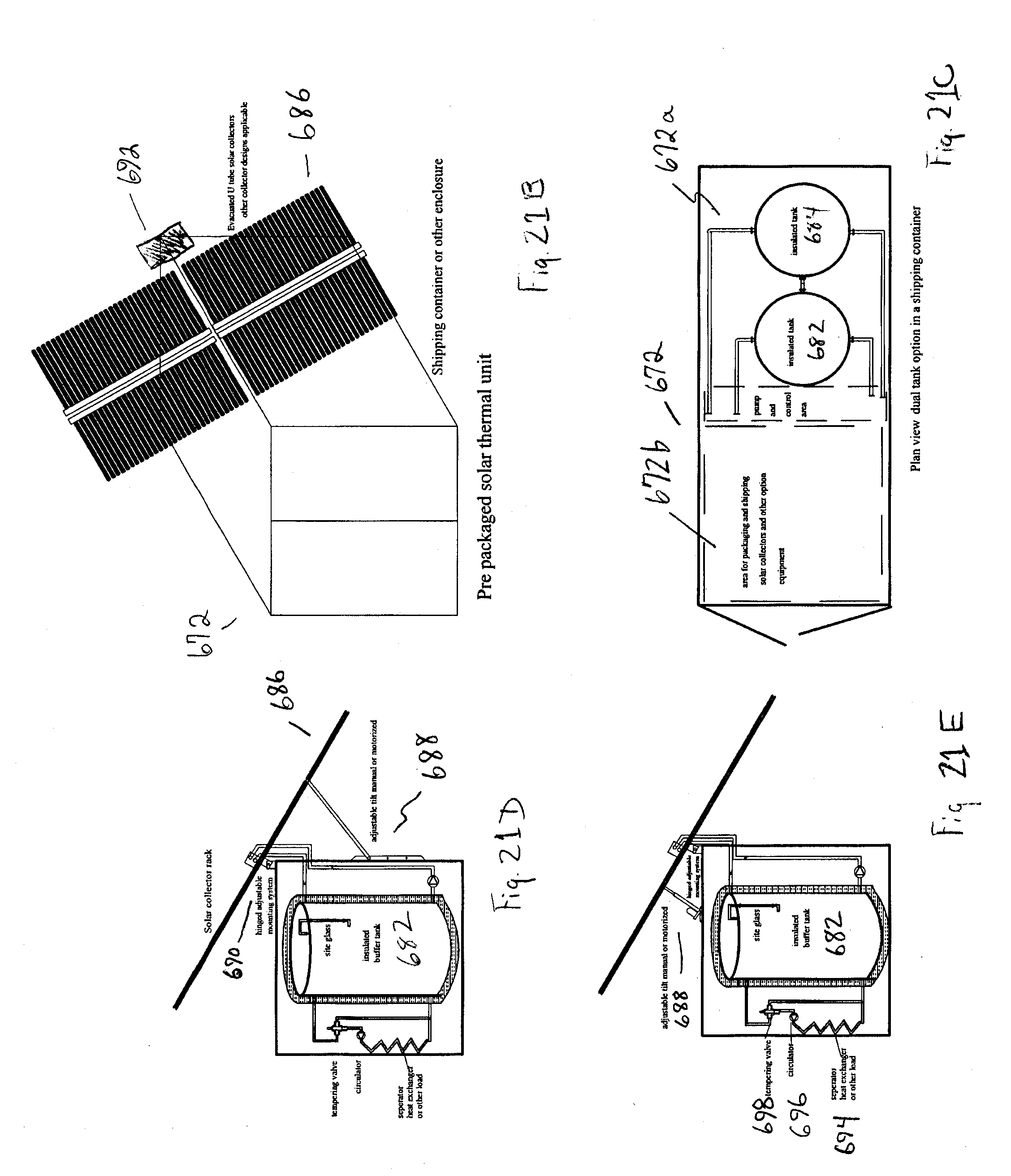 patent us20130223826 - solar heating for site located oil storage or separation