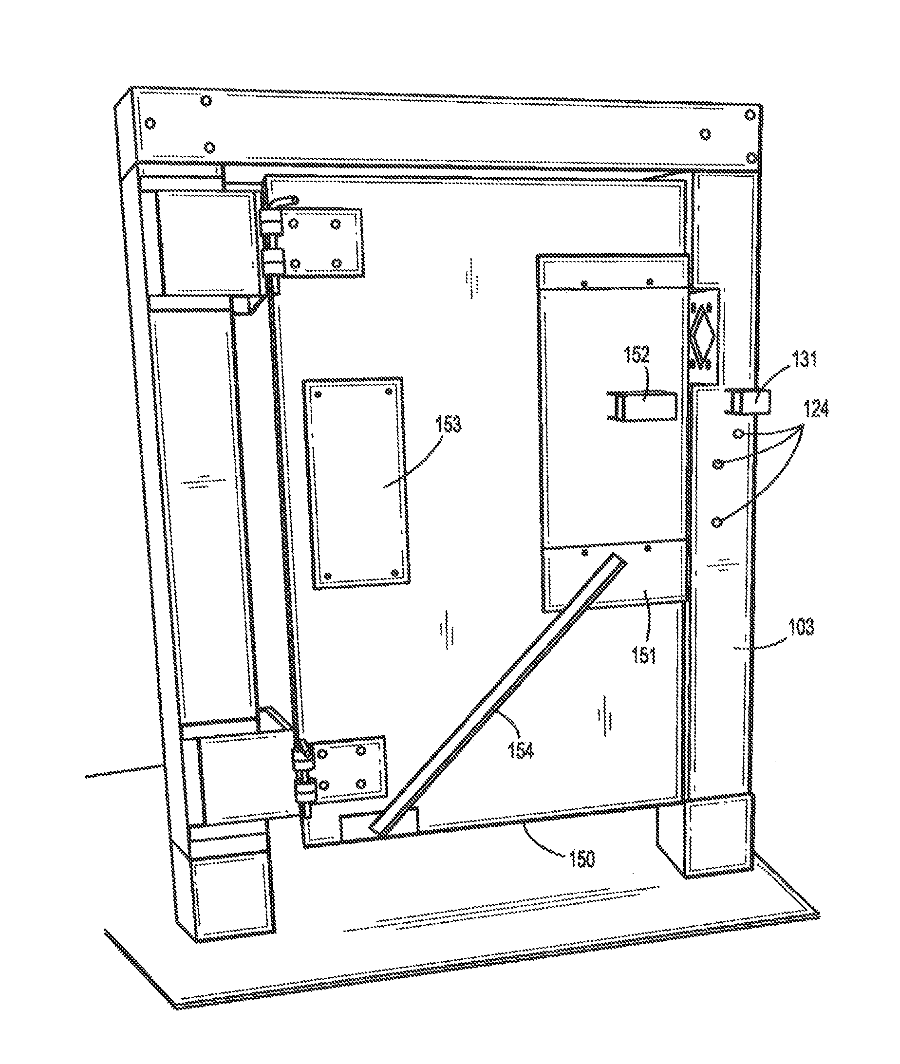 Patent Us20130224700 Forcible Entry Training Door System