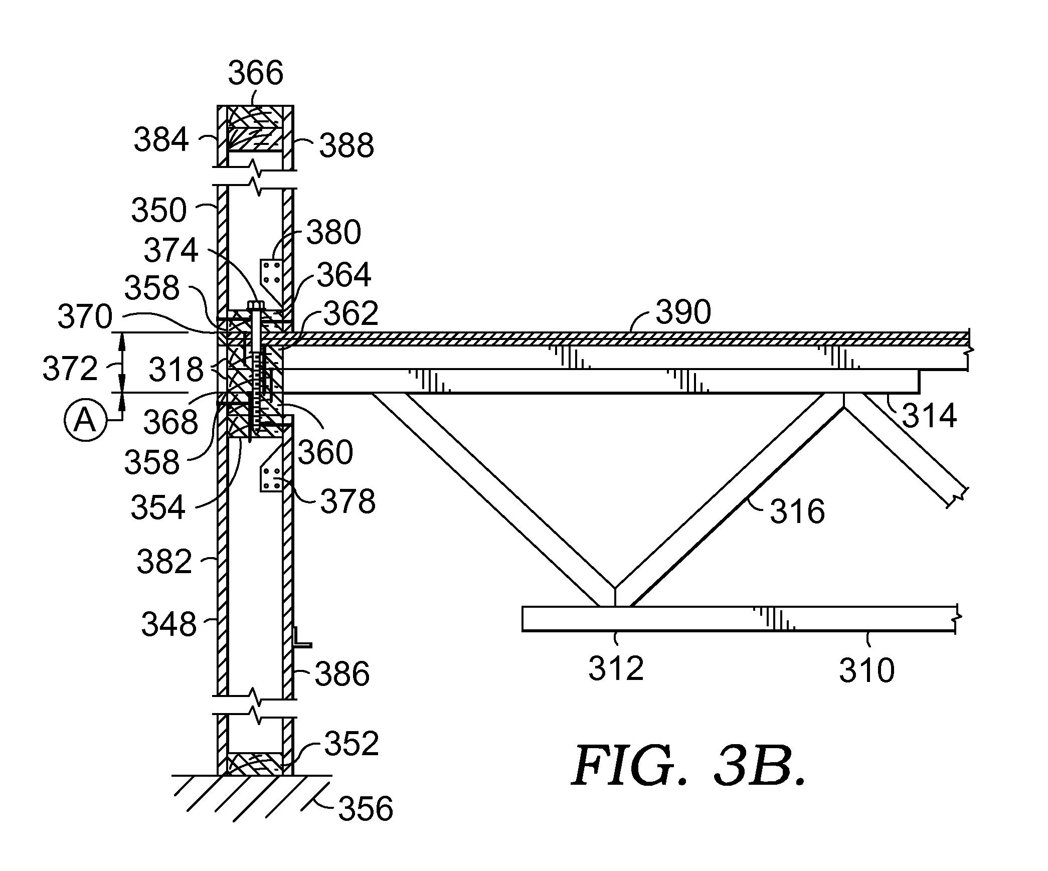 Patent us20130239515 hybrid top chord bearing framing system patent drawing hexwebz Choice Image
