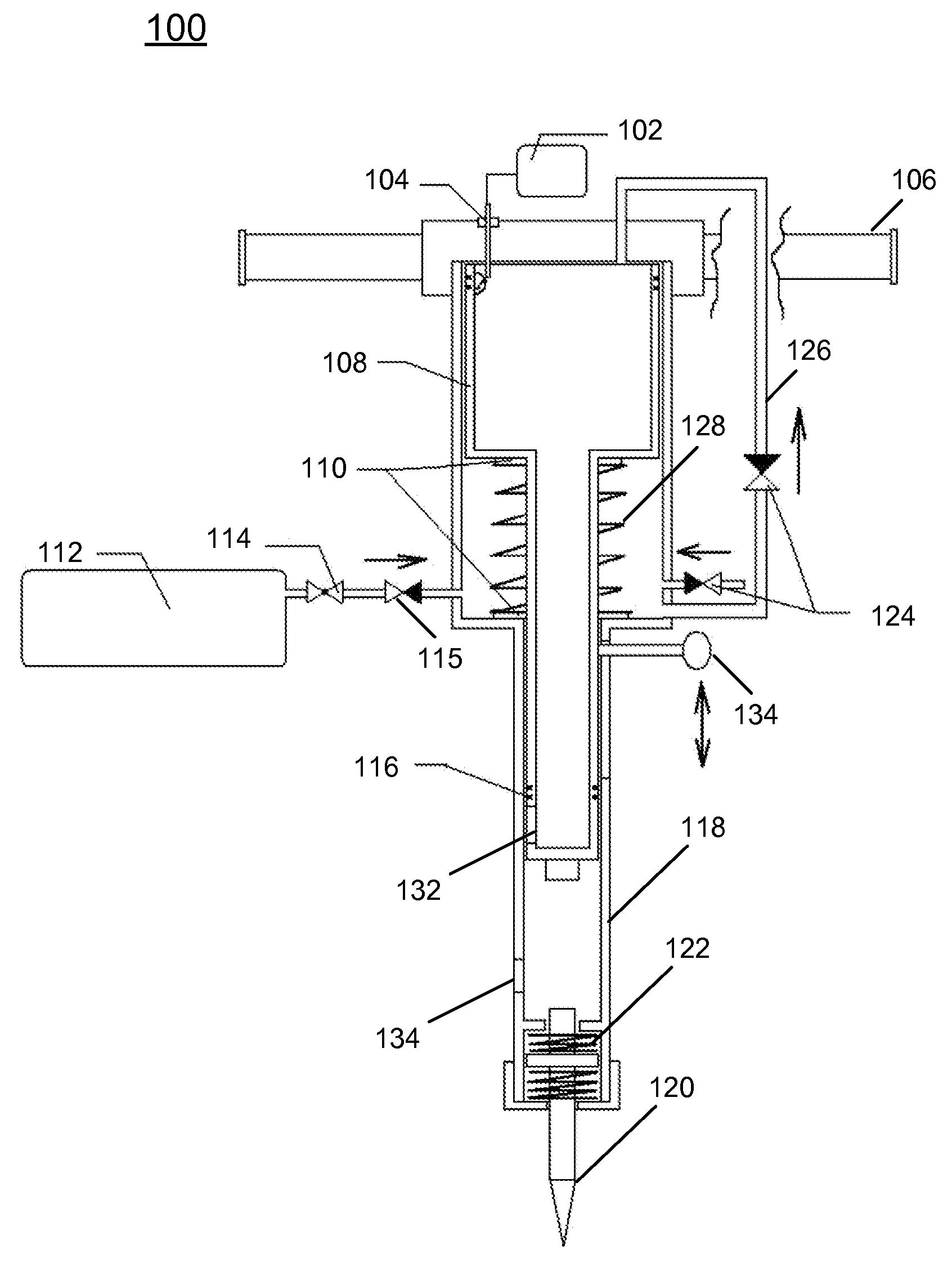 patent us20130255985 - portable jackhammer