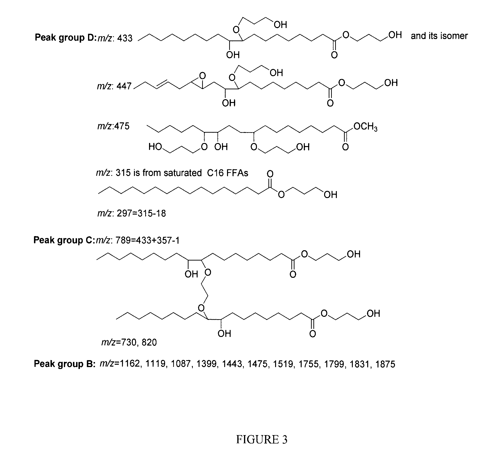 Patent us20130274494 polyol synthesis from fatty acids and oils patent drawing hexwebz Gallery