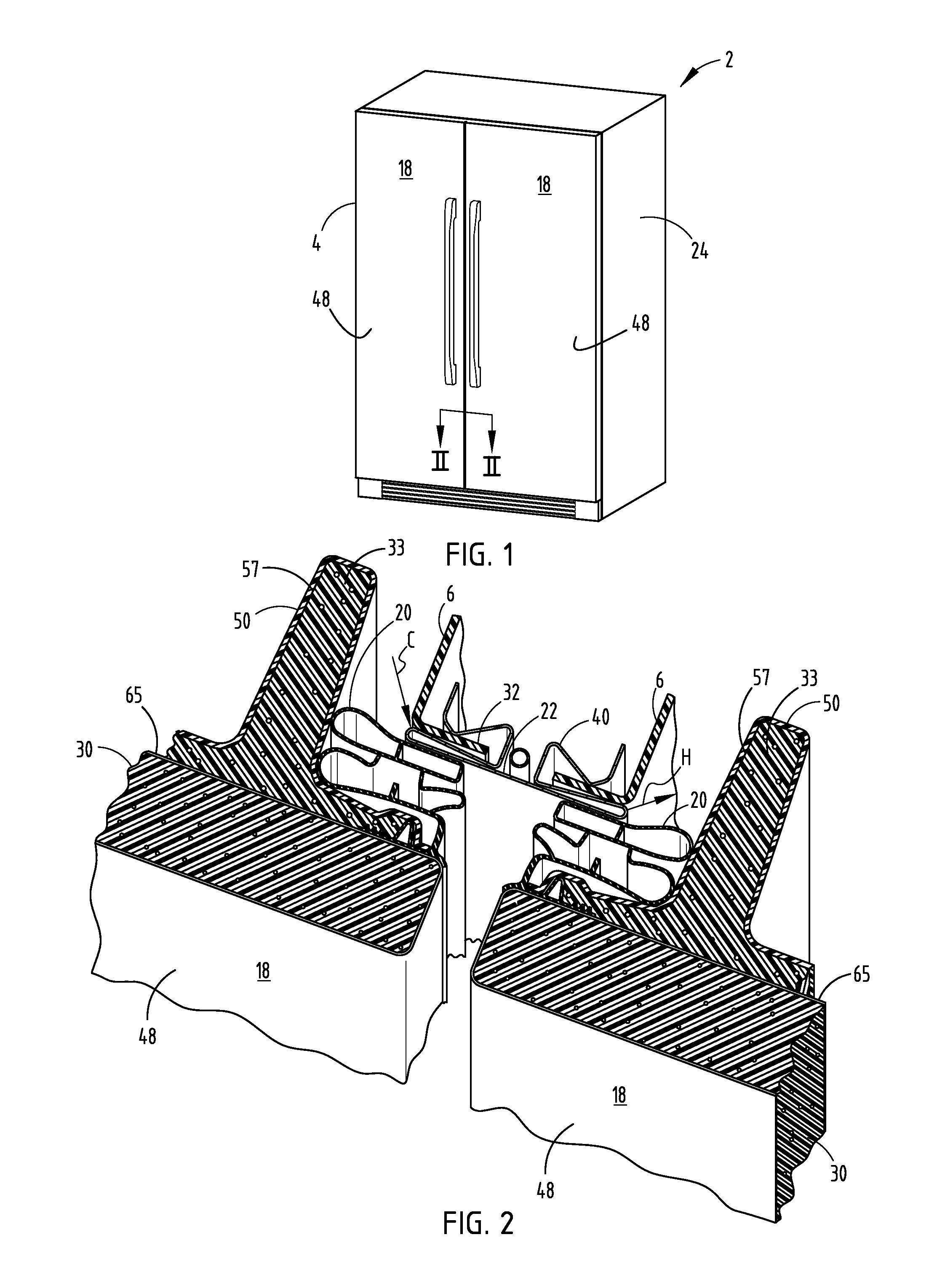 Patent Us20130293081 Cabinet Gasket For Refrigerator