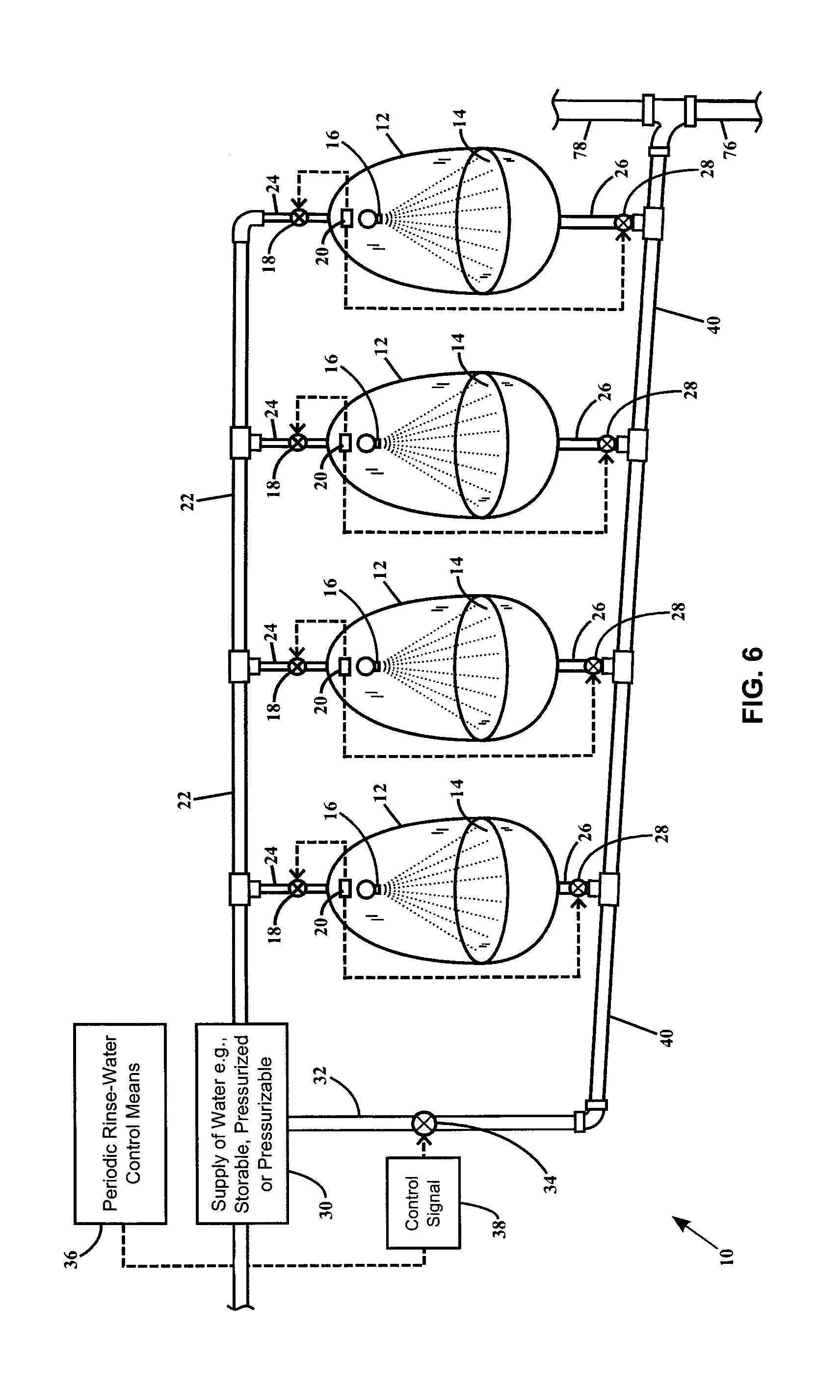 Patent us20140020166 valve controllable urinal drain line and Shower Piping Diagram Hot Water Piping Diagrams Water Piping Diagram