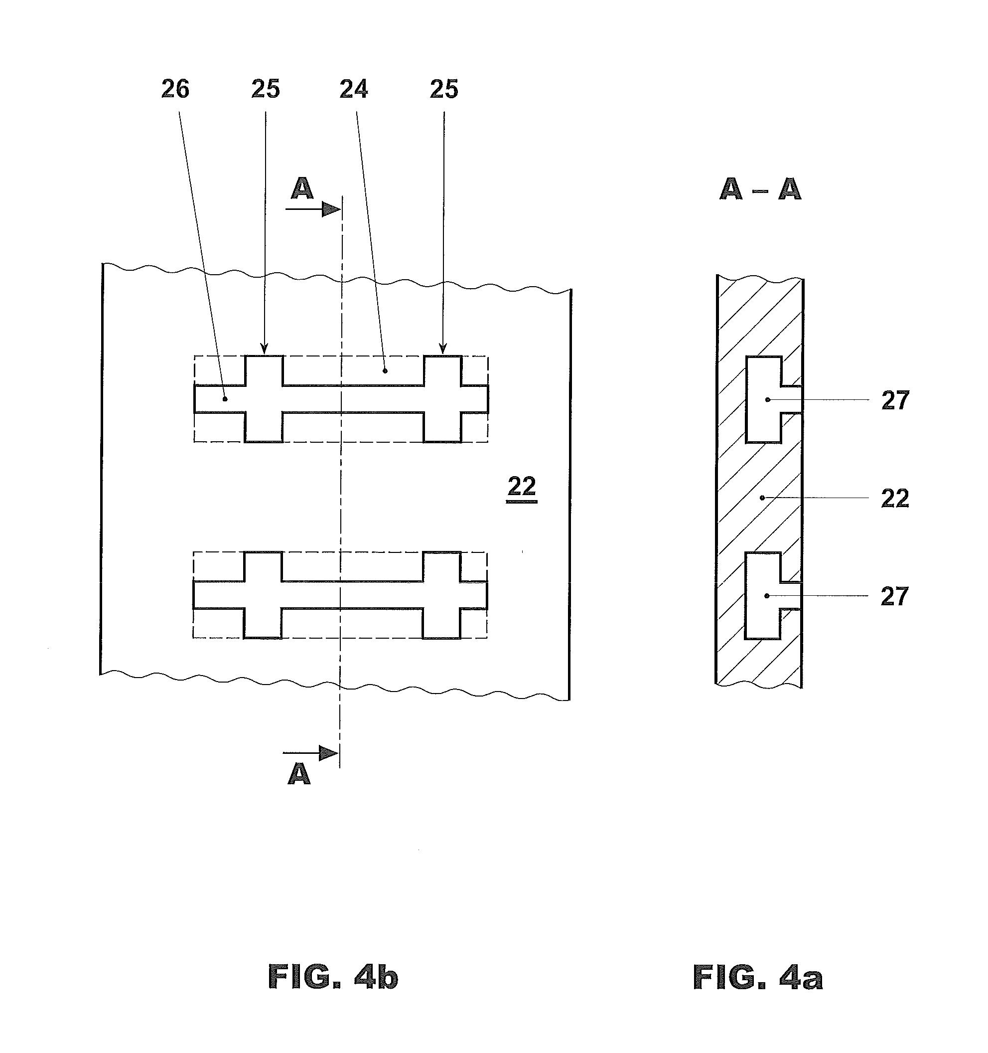 Patent US Stationary gas turbine arrangement and