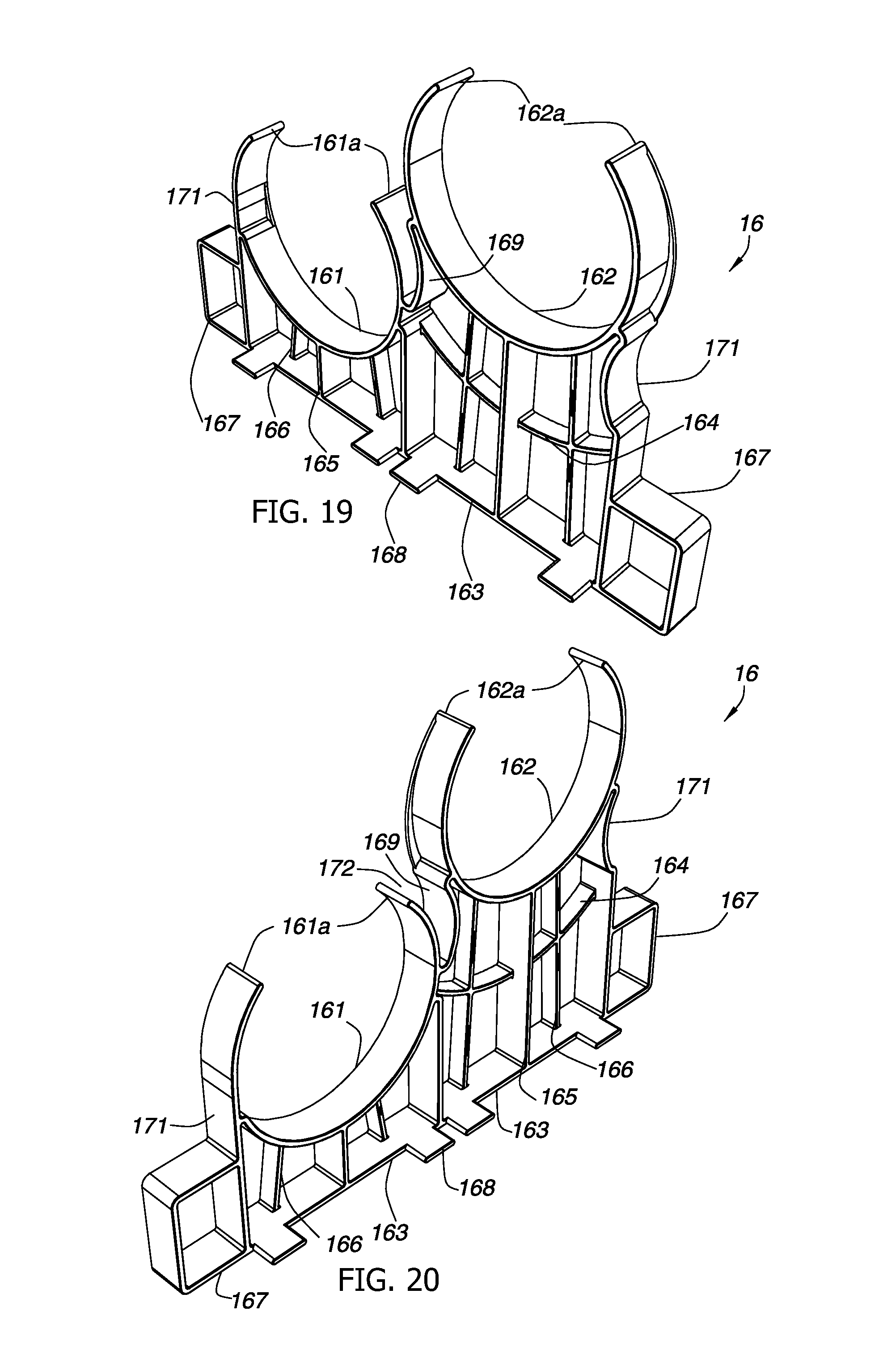 patent us20140034356 - low emf compact duct spacer