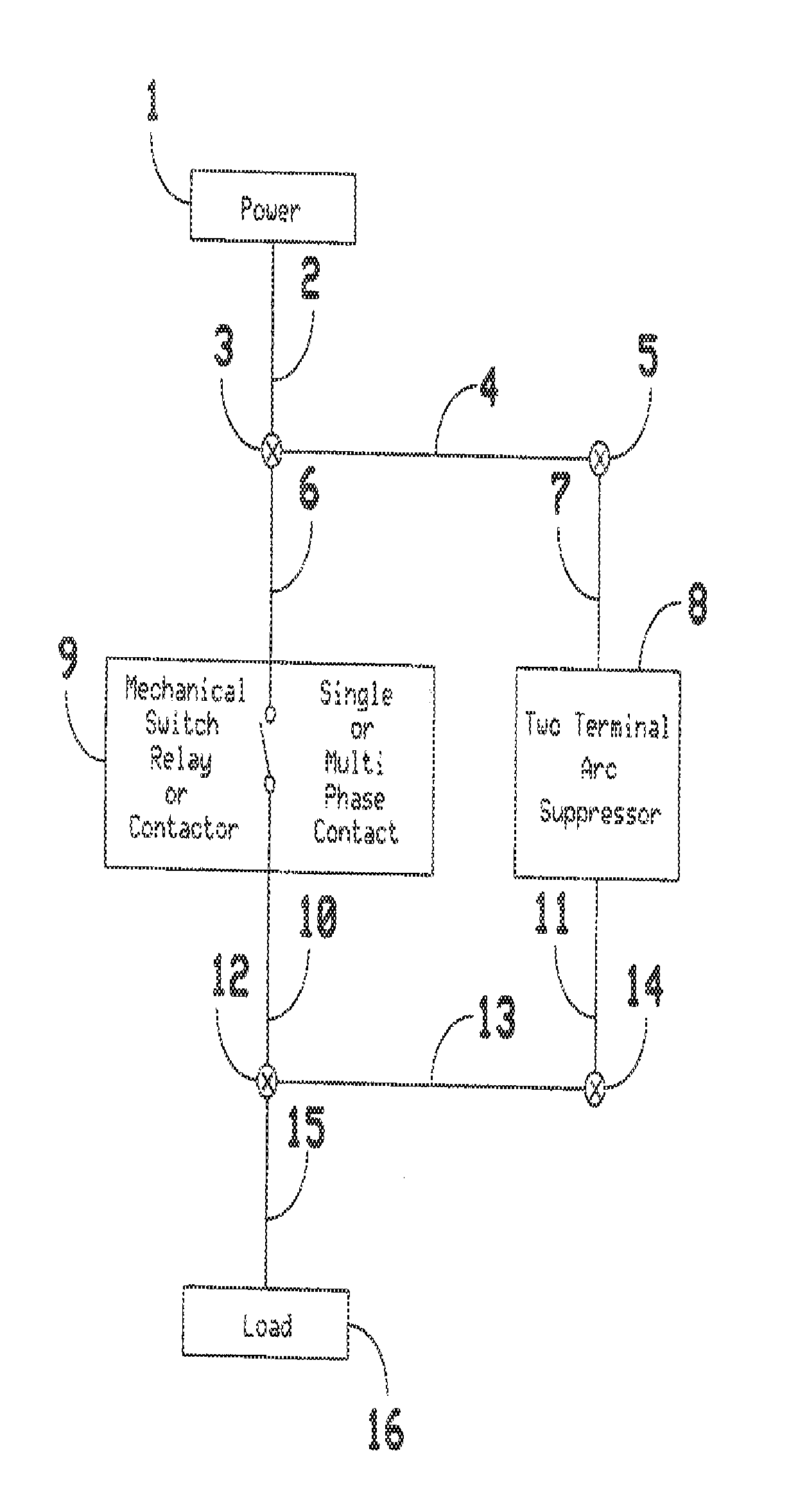 Patent Us20140078623 Two Terminal Arc Suppressor Google Patents Snubber Circuit Triac Composed Drawing