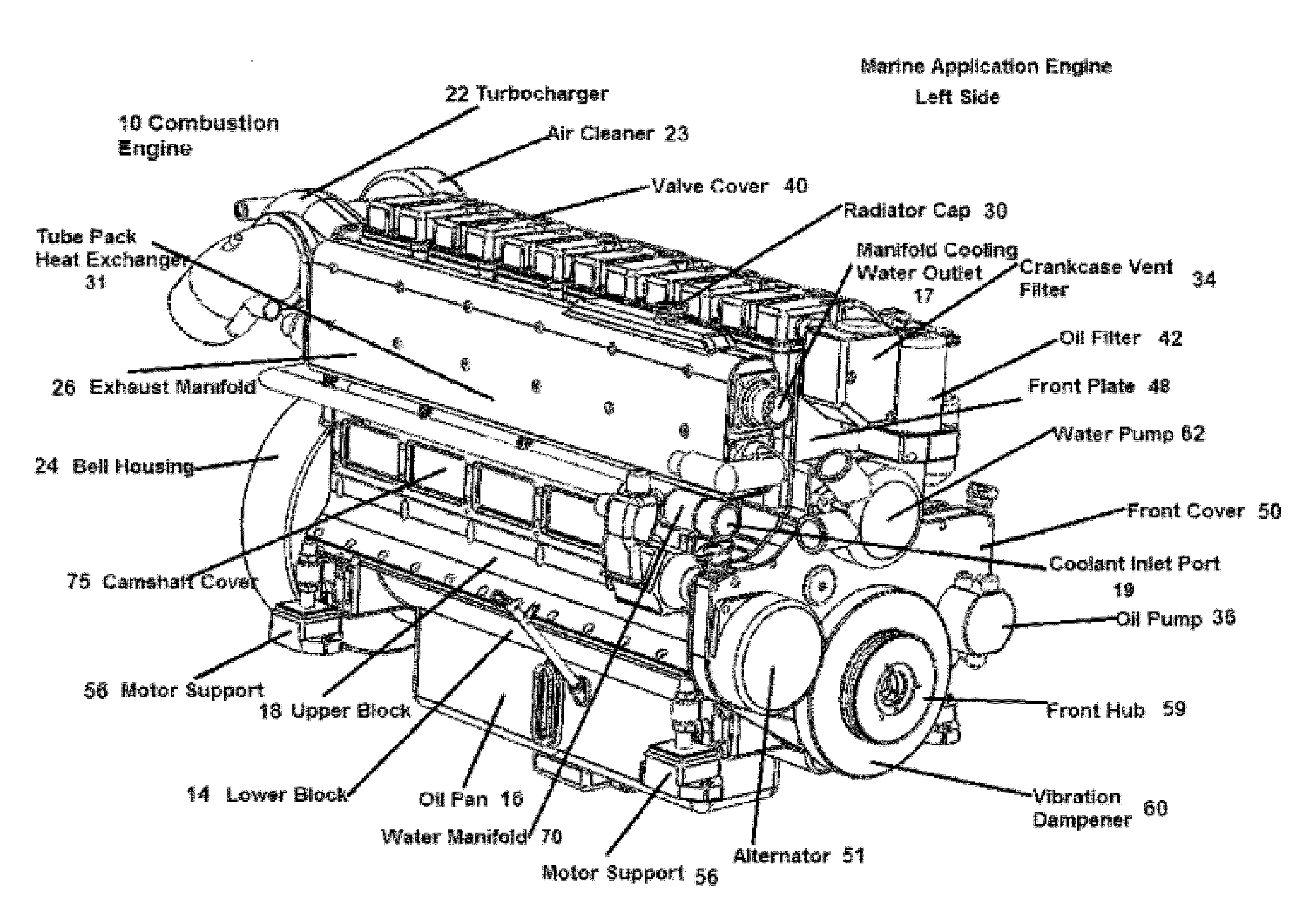diagram of external combustion engines