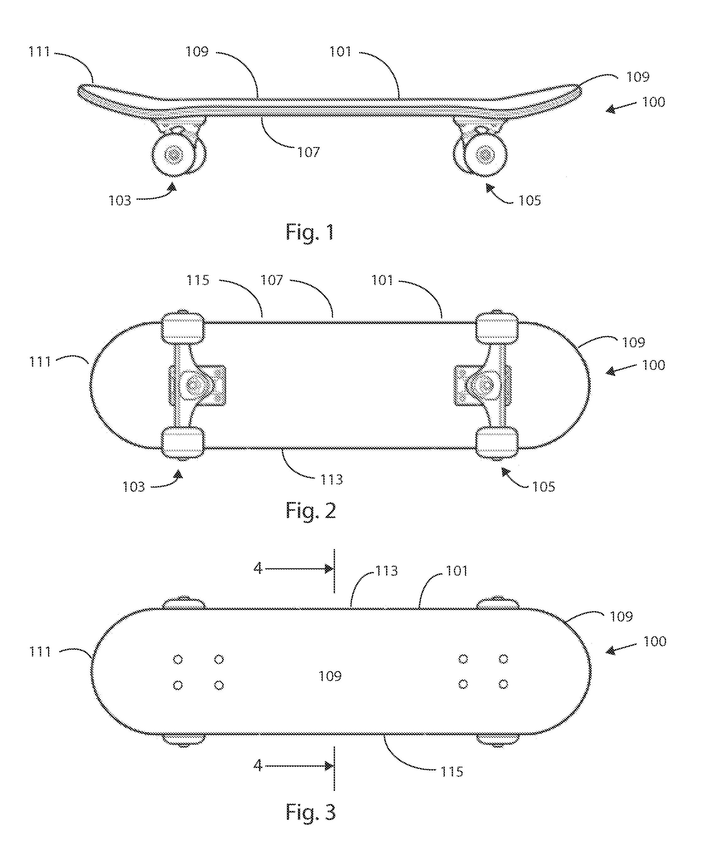 Patent US20140110914 - Laminated paper skateboard deck - Google ...