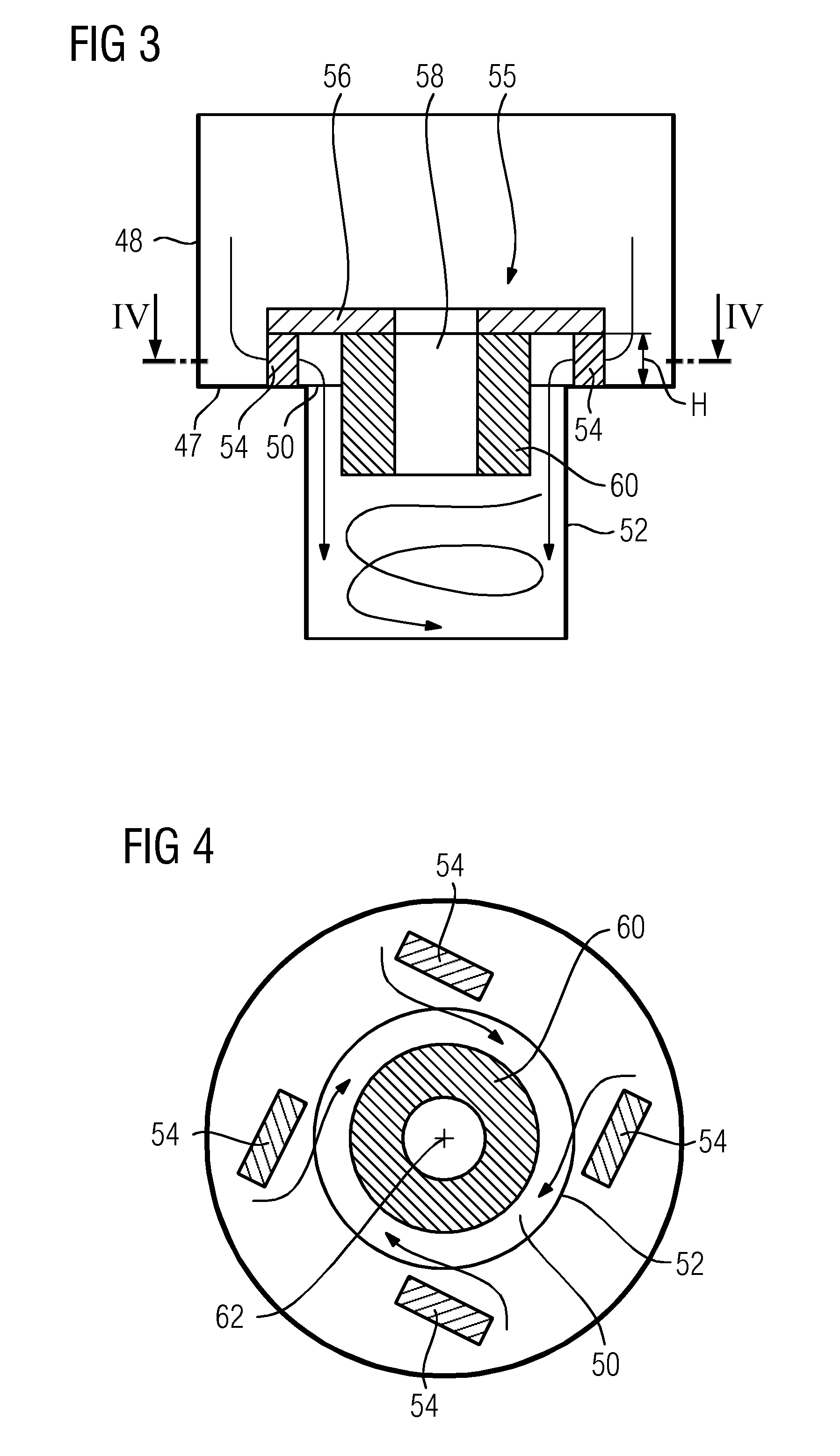Patent US Hydraulic bearing for a stationary gas