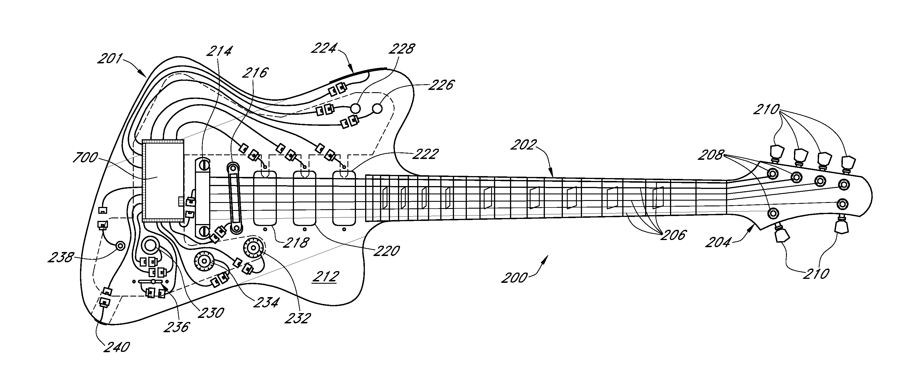 patent us wireless electric guitar google patents