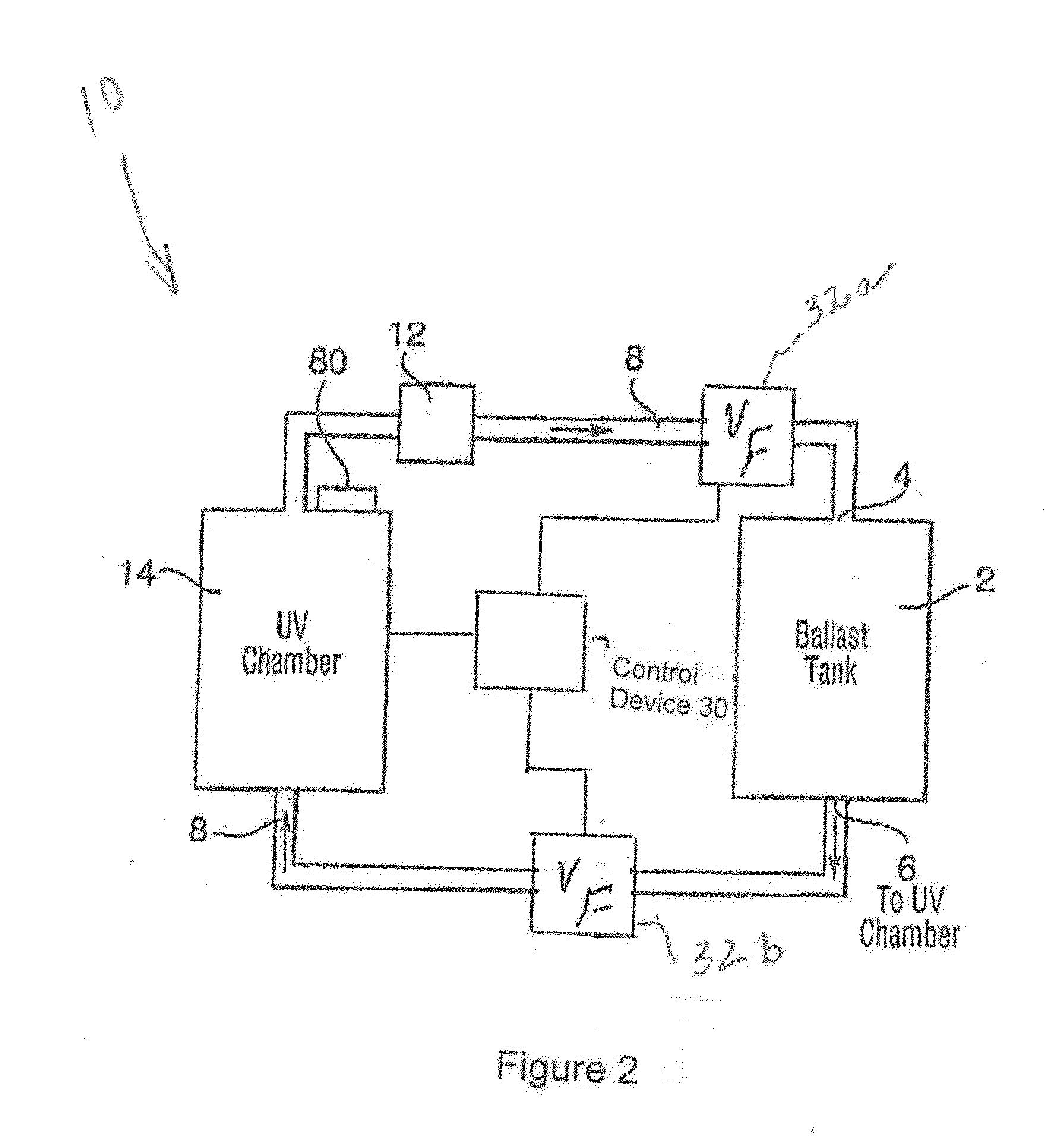 Patent Us20140224714 Ballast Water Tank Recirculation