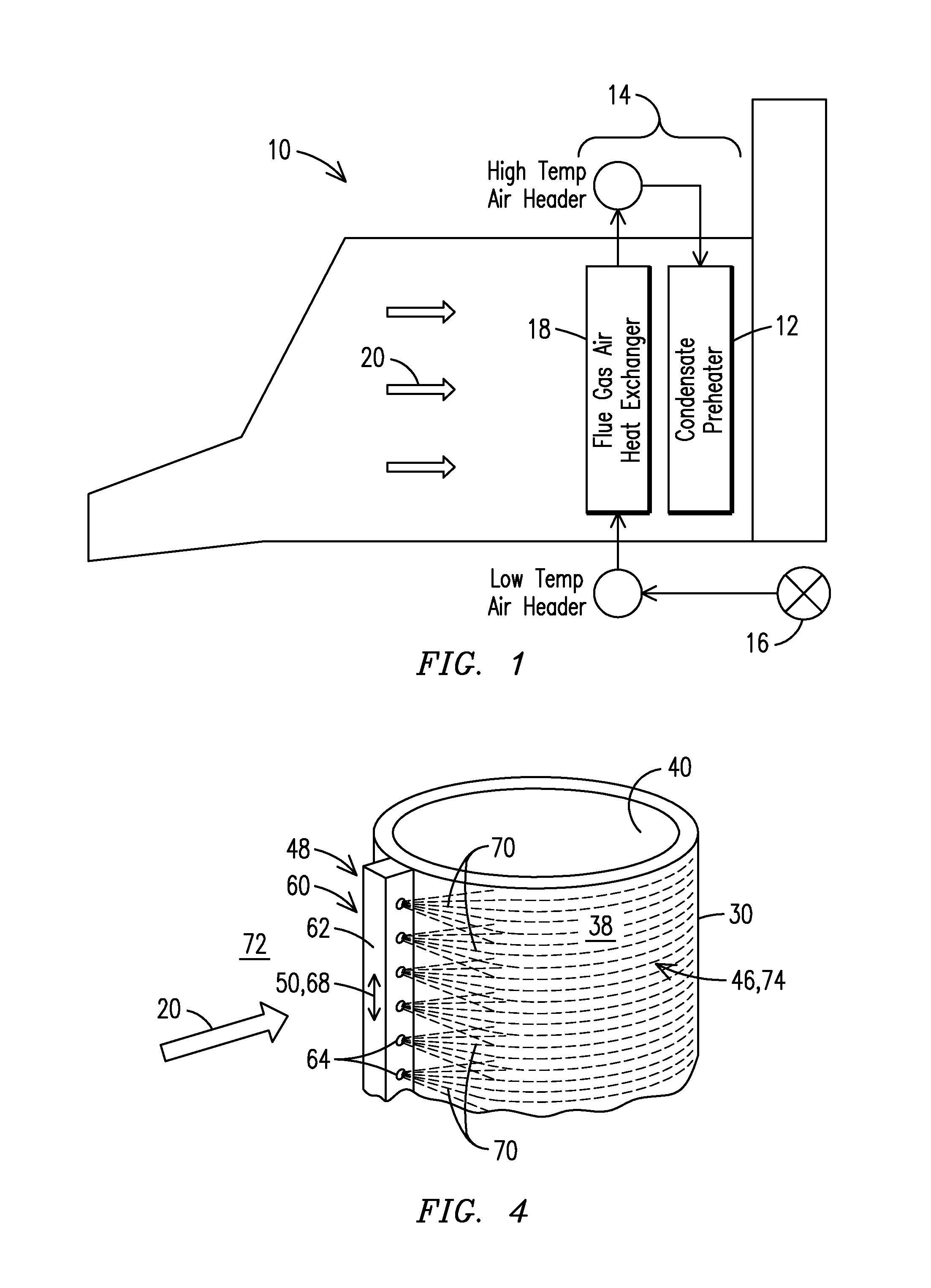 Patent US Localized flue gas dilution in heat