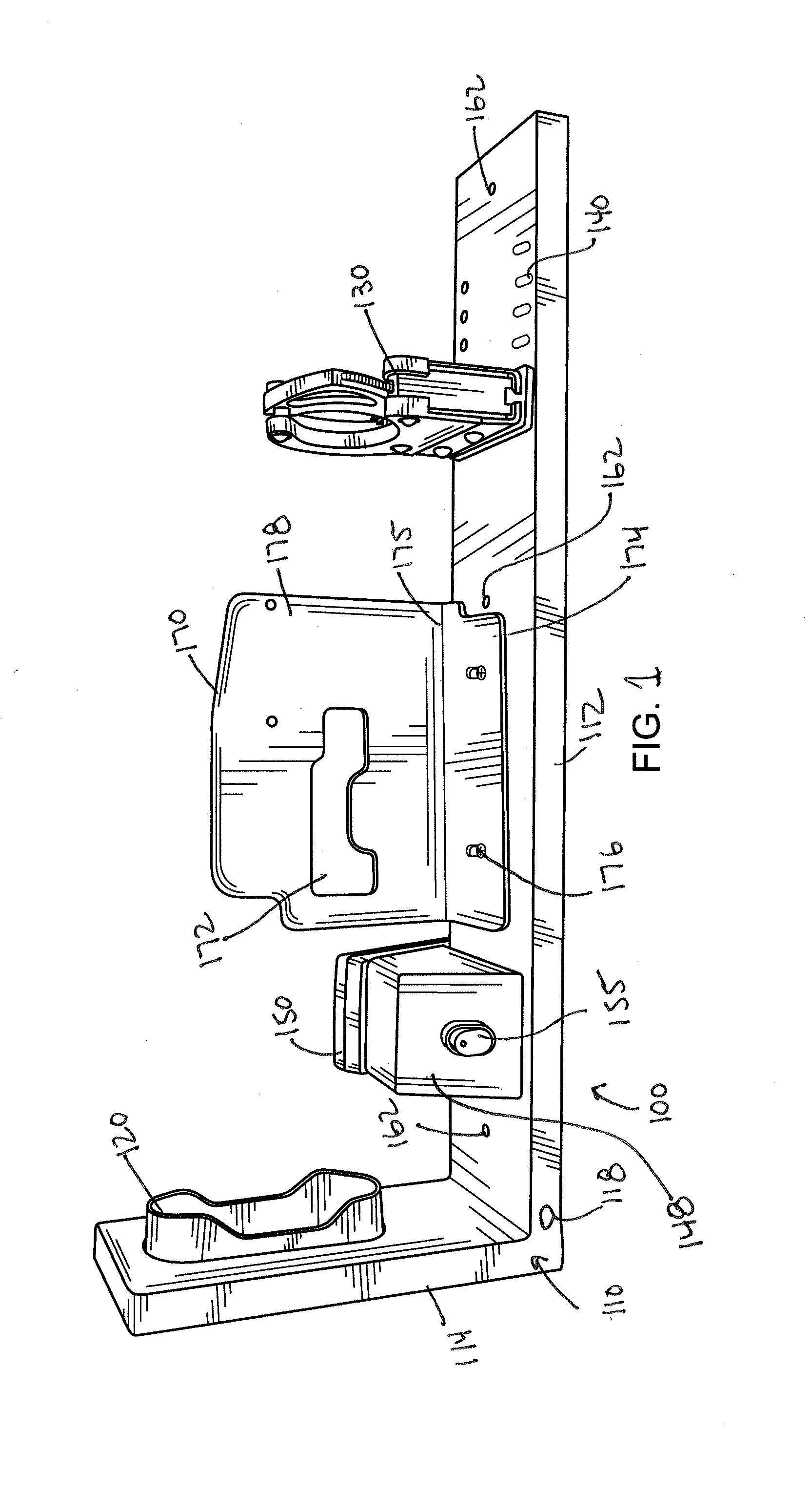 US20140263107A1 20140918 D00001 patent us20140263107 locking gun rack system with quick pro gard gun lock timer wiring diagram at honlapkeszites.co