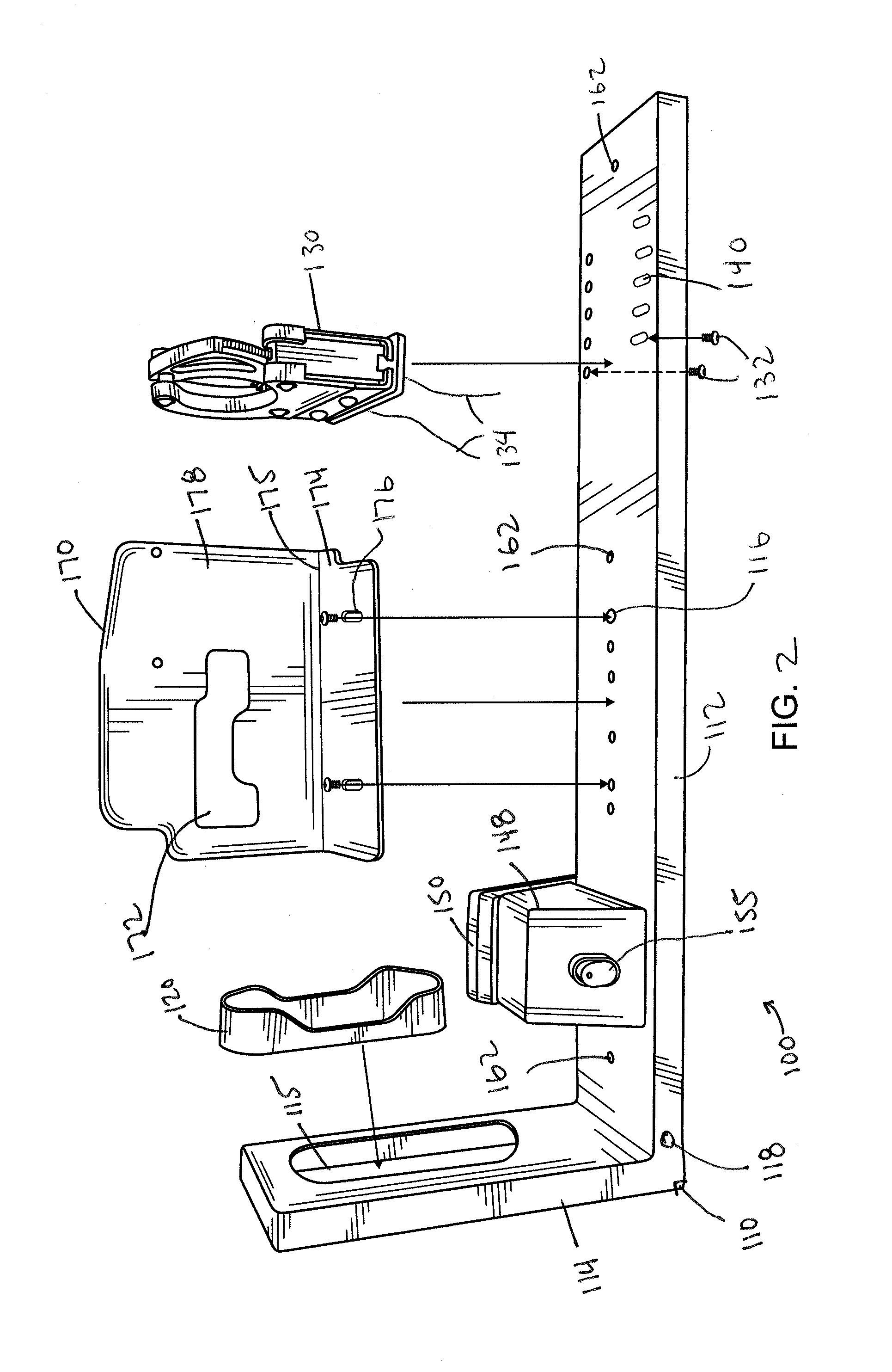 US20140263107A1 20140918 D00002 patent us20140263107 locking gun rack system with quick pro gard gun lock timer wiring diagram at honlapkeszites.co
