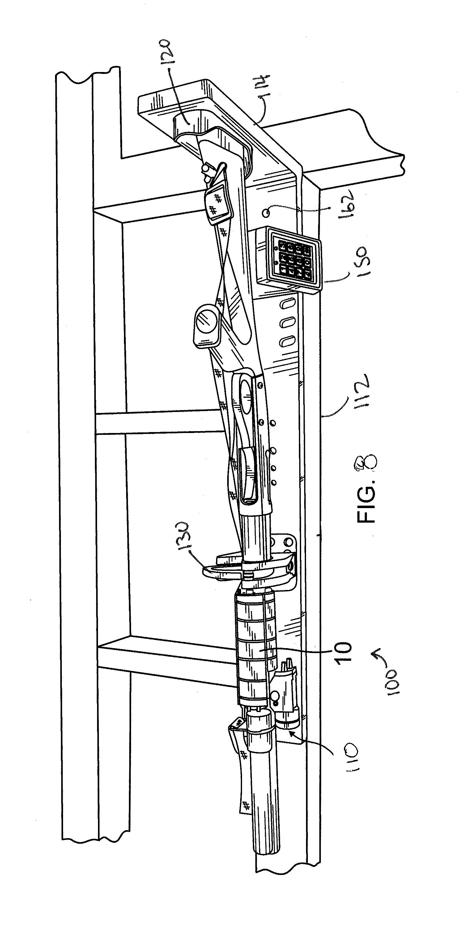 US20140263107A1 20140918 D00008 patent us20140263107 locking gun rack system with quick pro gard gun lock timer wiring diagram at honlapkeszites.co