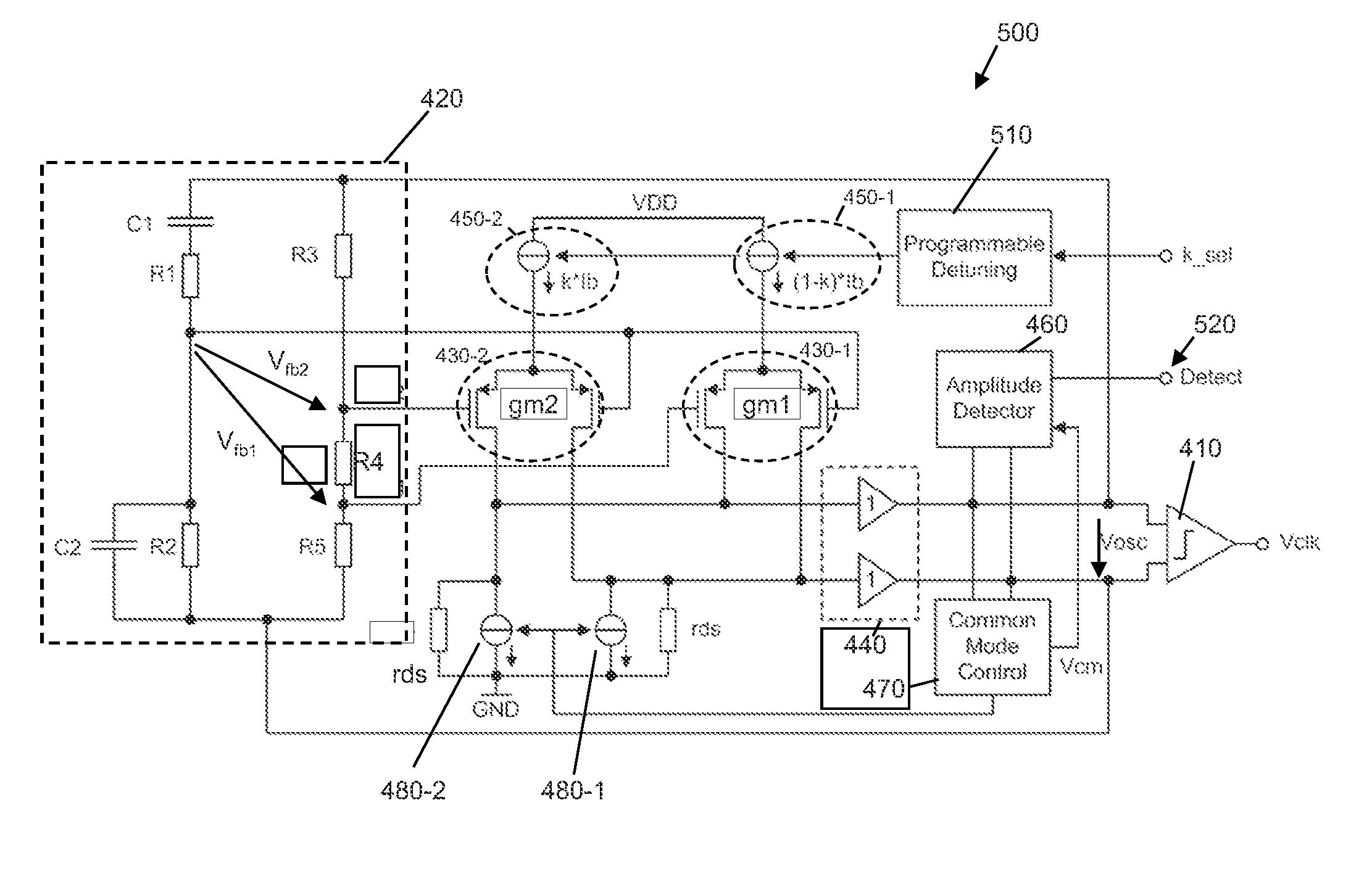 Patent Us20140285274 Wien Bridge Oscillator And Circuit Digital Clock Integrated Diagram Amplifiercircuits Drawing