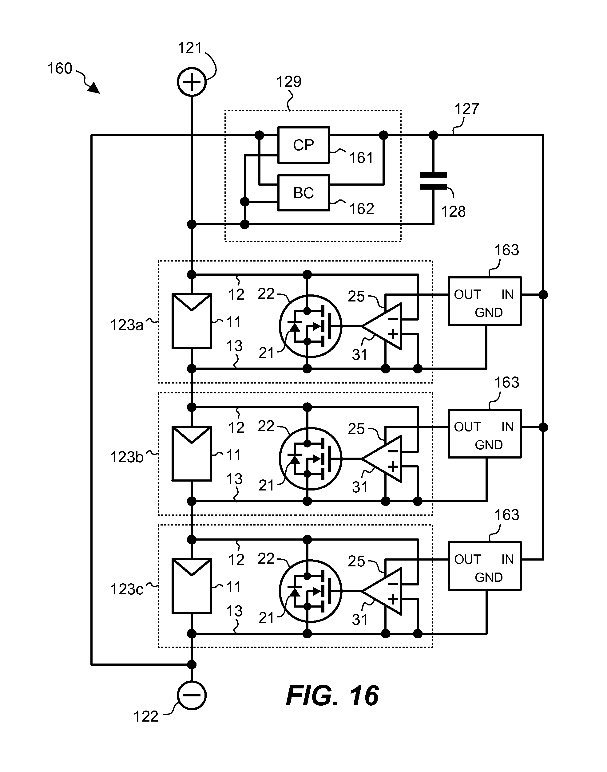 Patent Us20140293491 Active Bypass Diode Circuit And Solar Power Grid With Panel Schematic Drawing