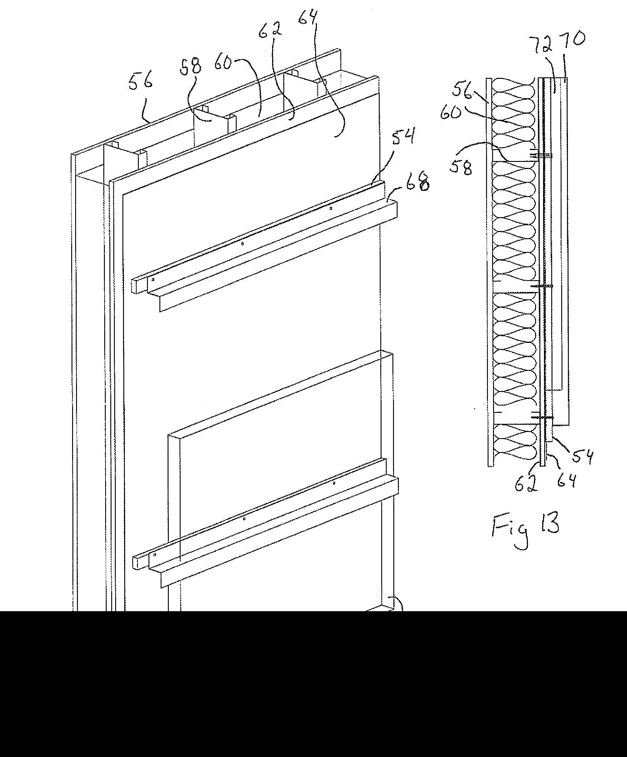 patent us20140325928 - thermal break wall systems and thermal adjustable clip