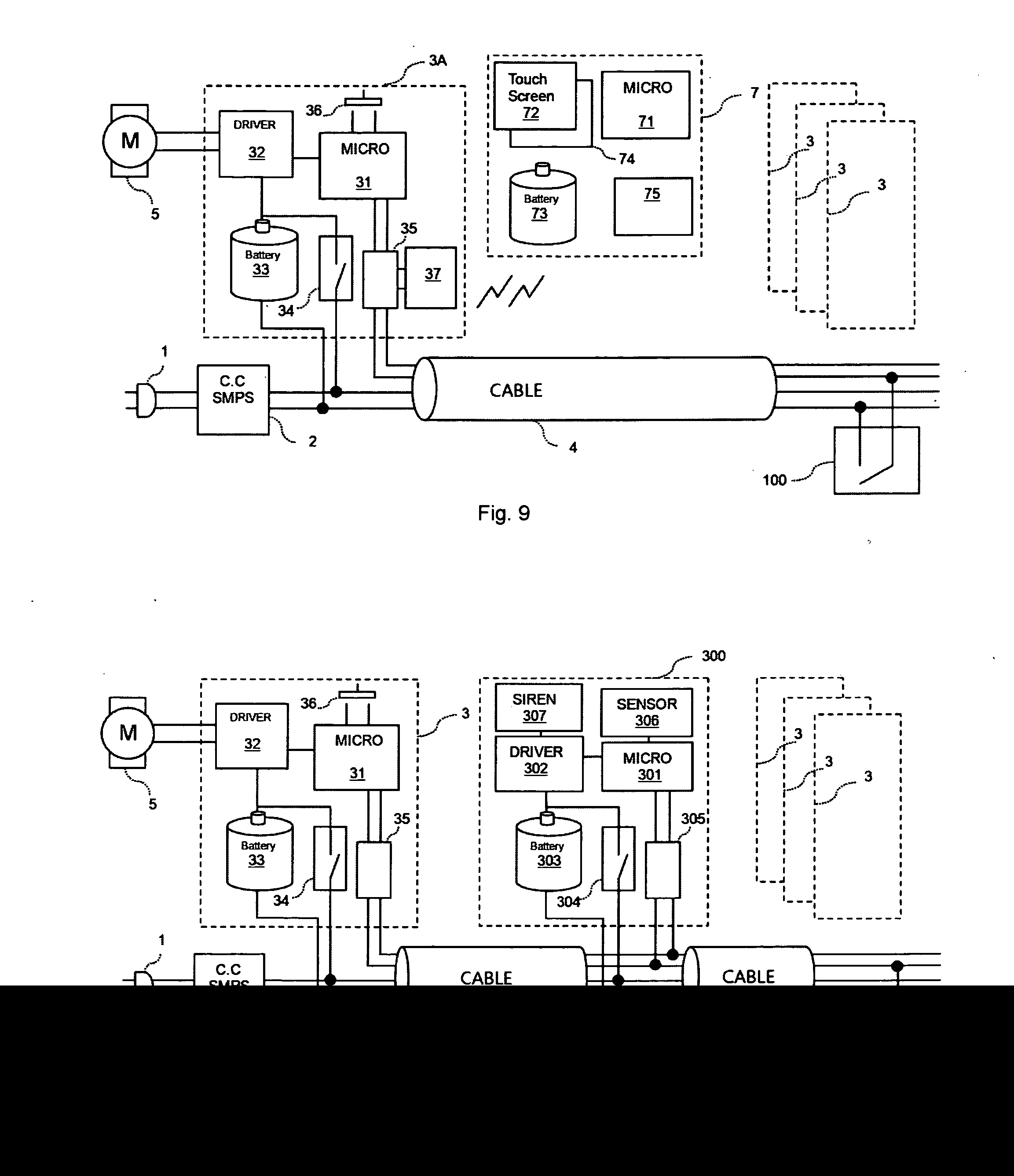 US20140352896A1 20141204 D00005 patent us20140352896 network roller shutters google patents roller shutter switch wiring diagram at gsmx.co