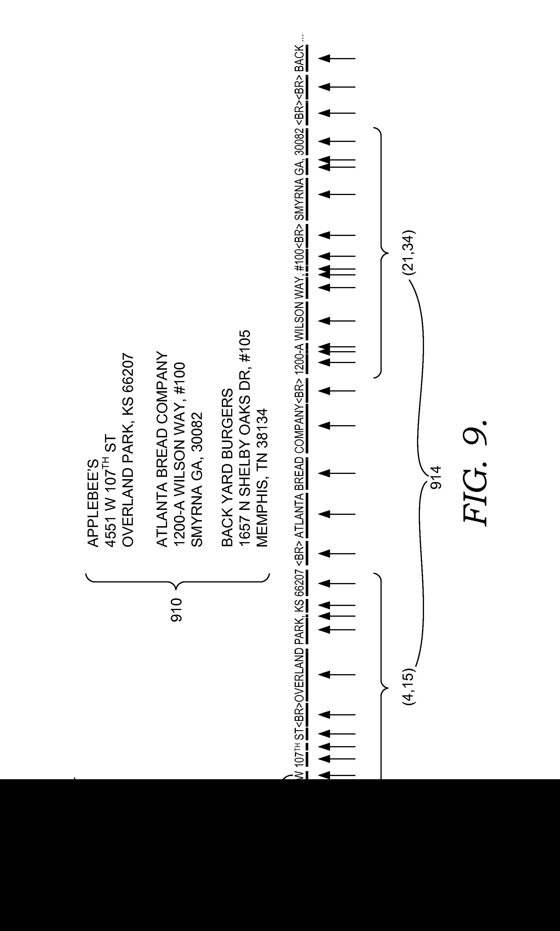 brevet us20150019460 active labeling for computer human patent drawing