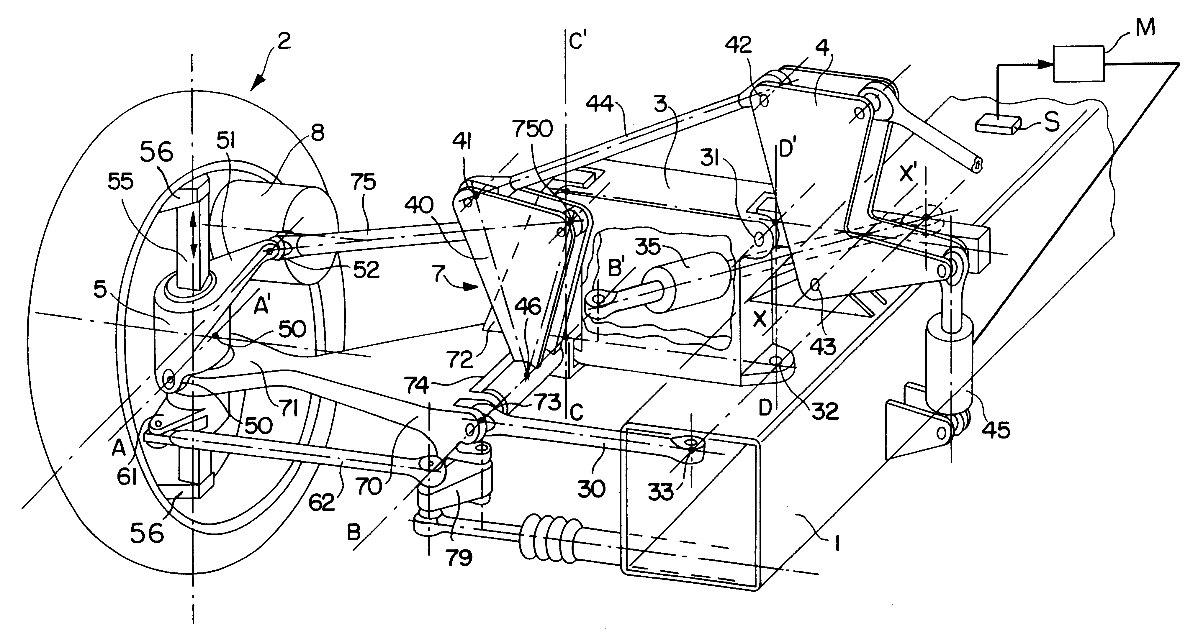 US06170838 20010109 D00000 patent us6170838 vehicle suspension having active camber countax wiring diagram at pacquiaovsvargaslive.co
