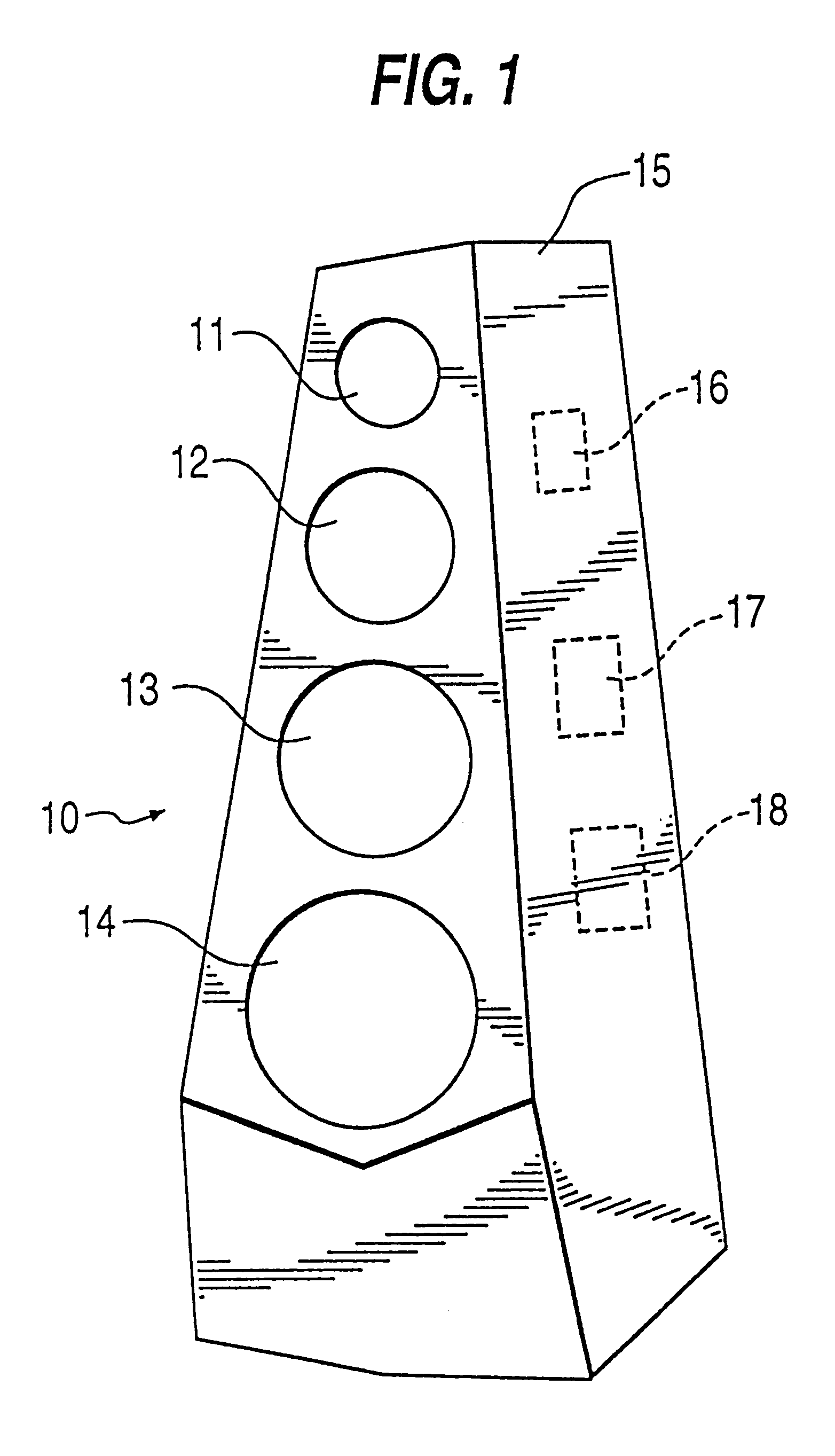 Patent Us6173064 Isolation Damping Mounting System For Loudspeaker Speaker Active Crossover Circuit Diagram In Addition Drawing