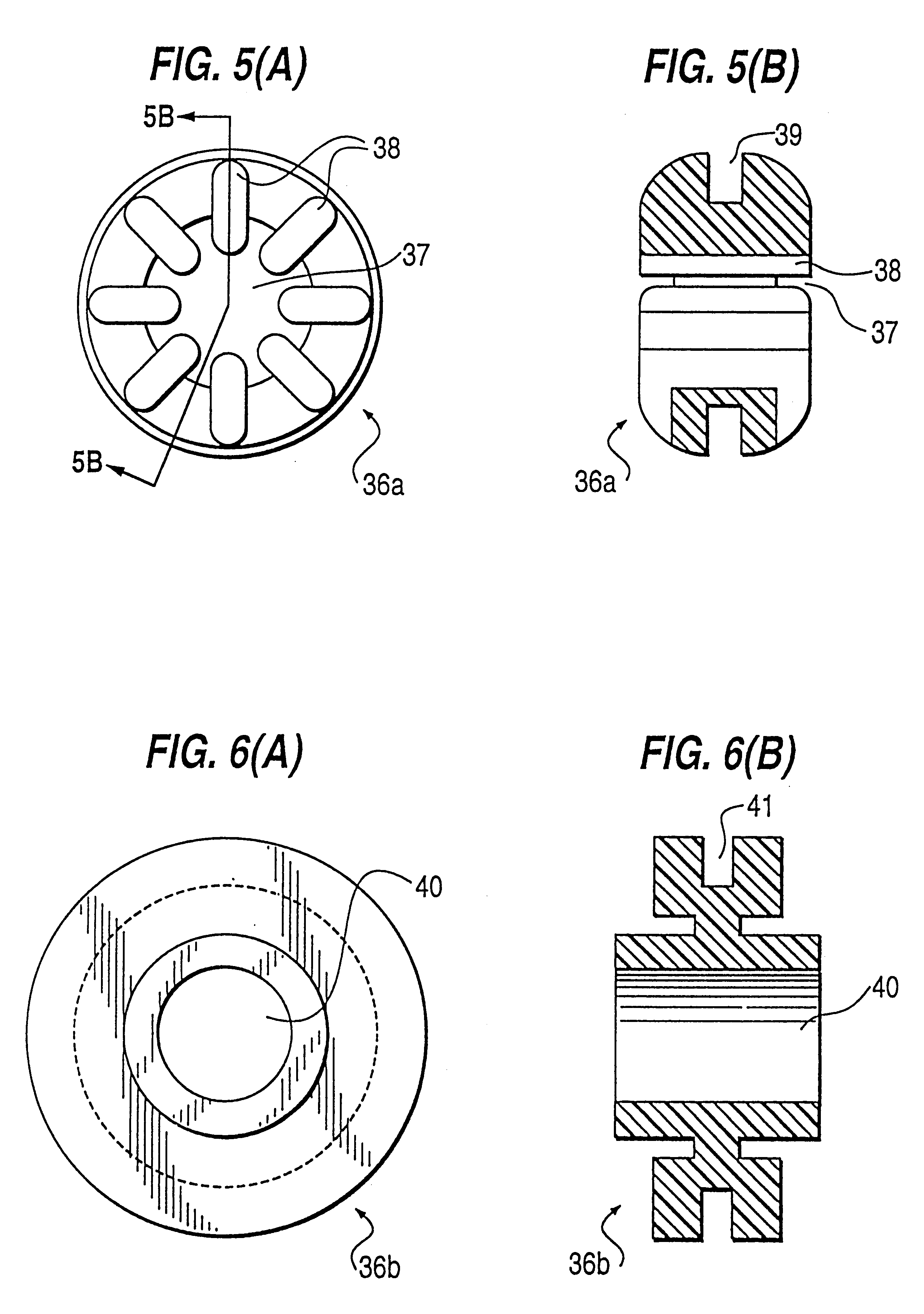 patent us6173064  damping mounting system for