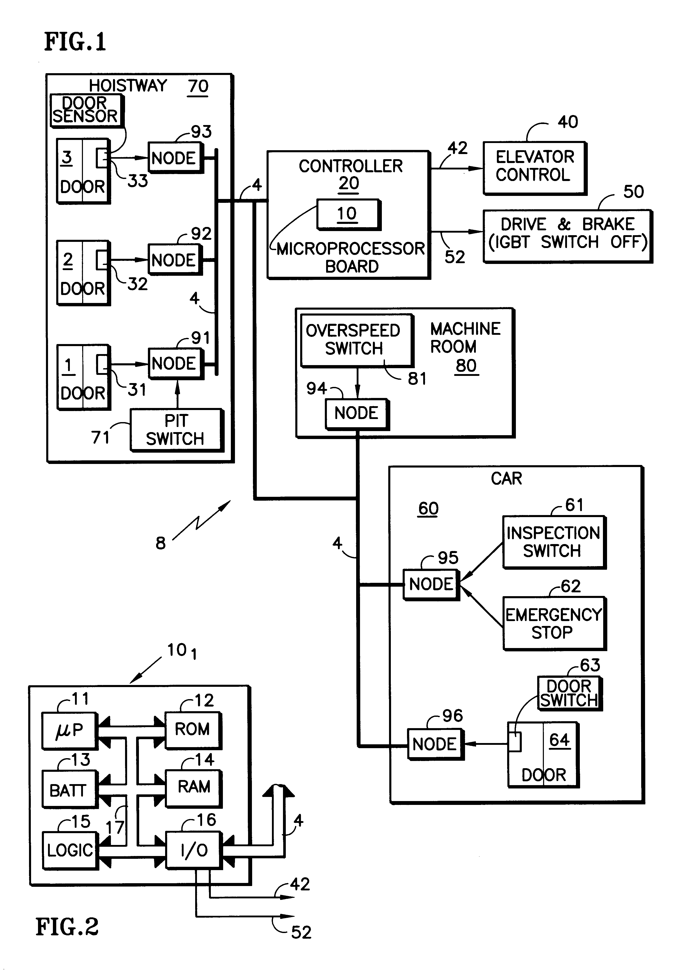 Wiring diagram elevator mitsubishi