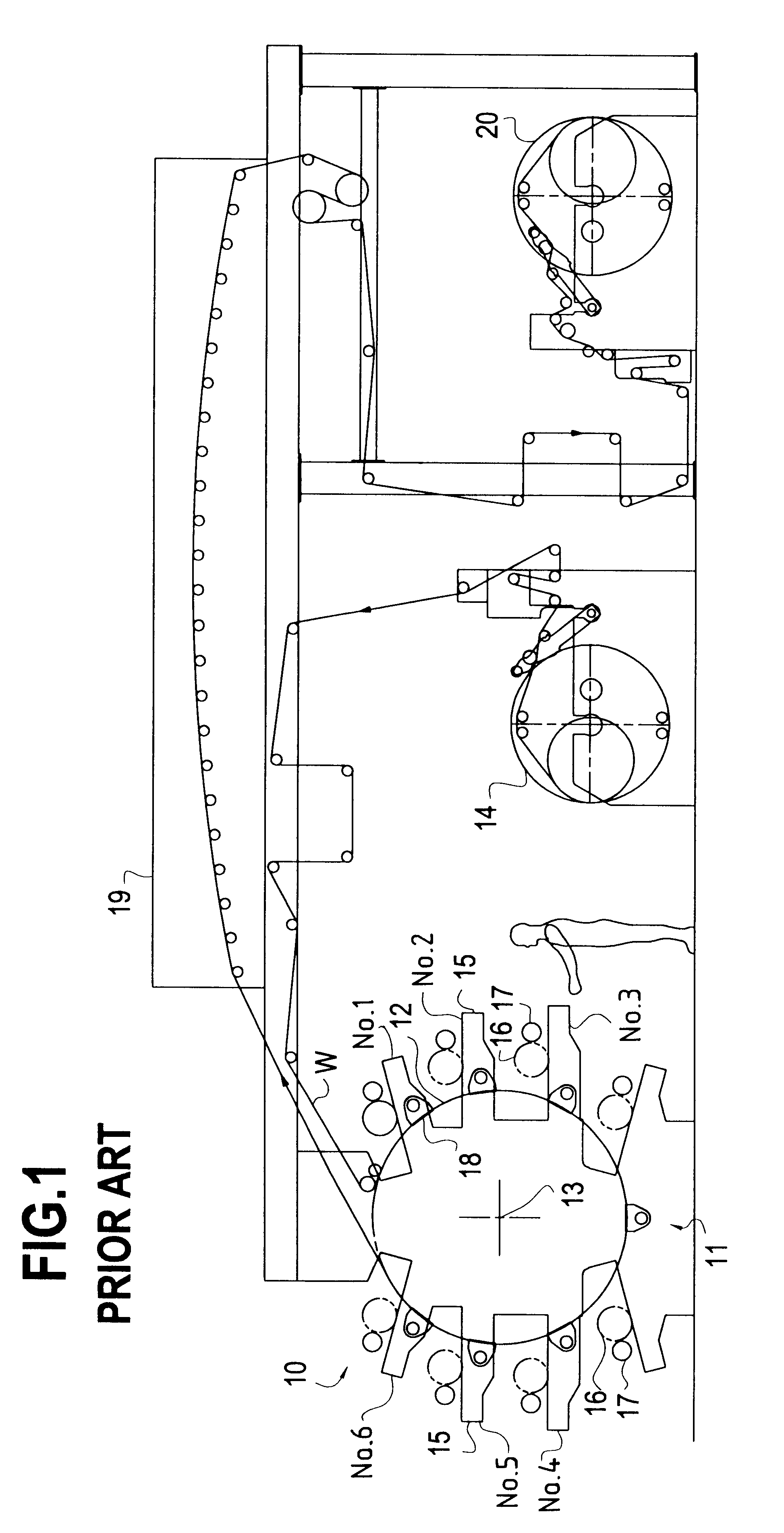 Patent Us6176181 Deck Configuration For A Printing Press Google Diagram Year 1 And 2 Context Rotary Drawing