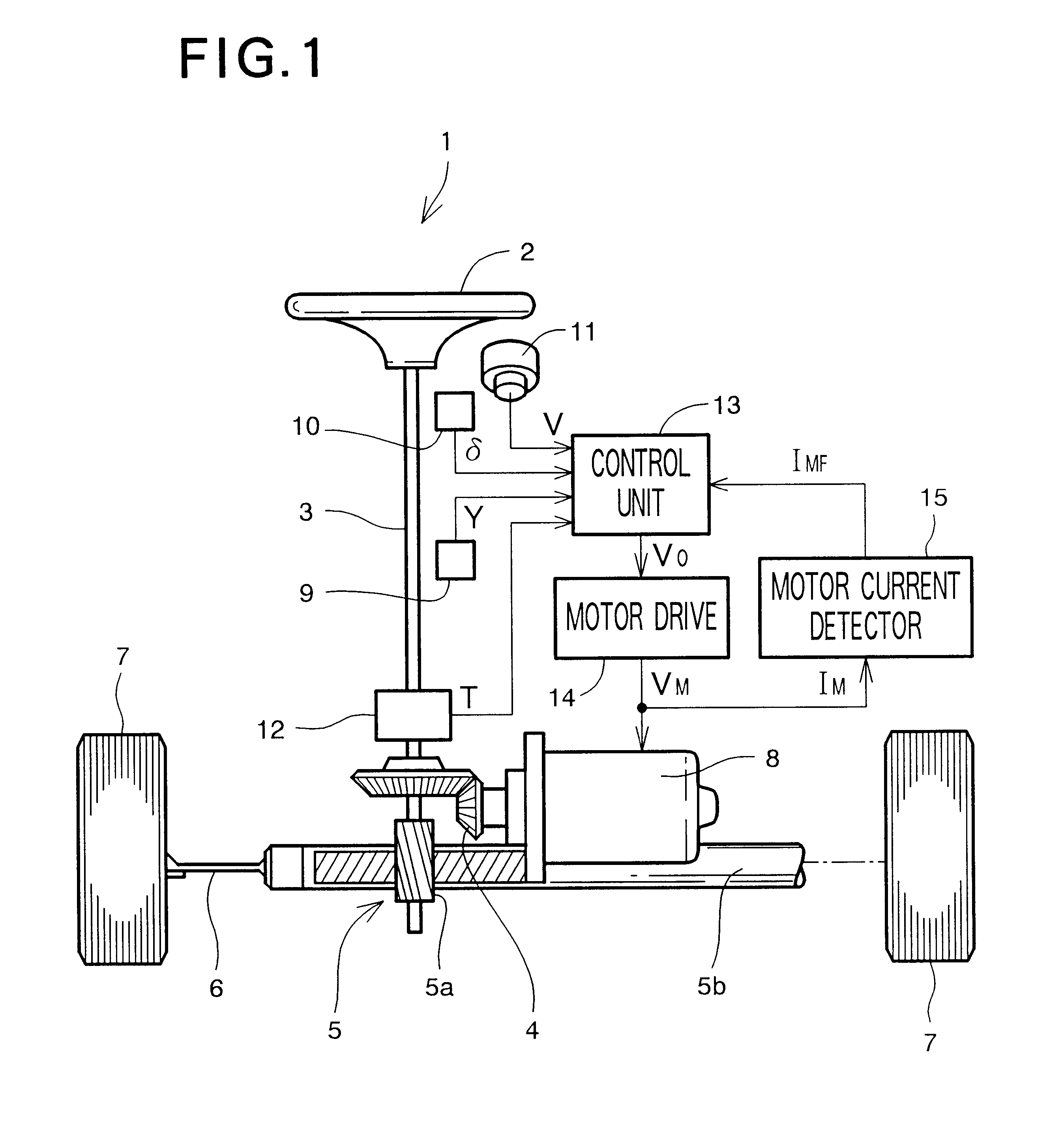 US06184637 20010206 D00001 patent us6184637 electric power steering apparatus google patents koyo electric power steering wiring diagram at readyjetset.co