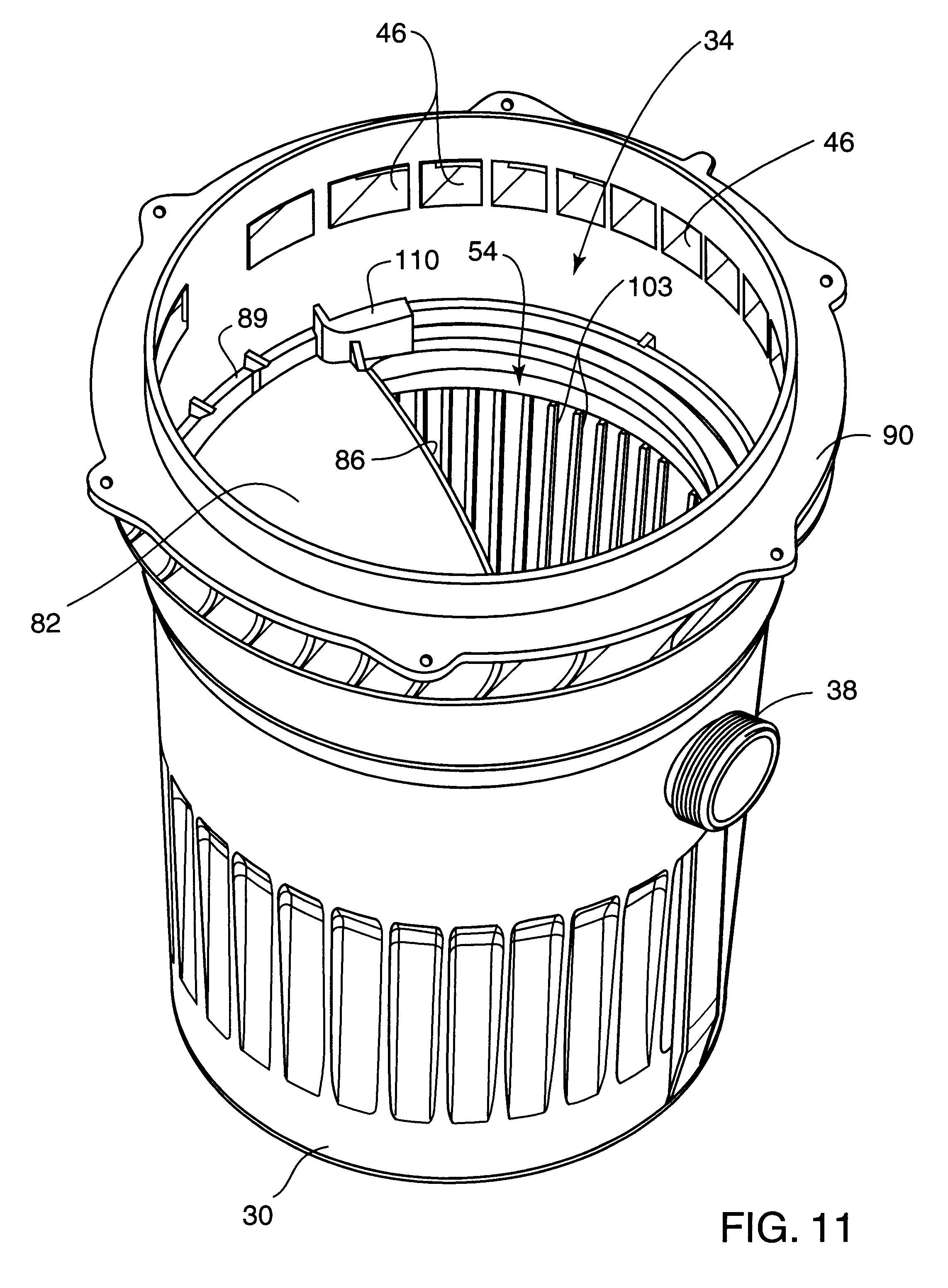 patent us6187181 - floating skimmer