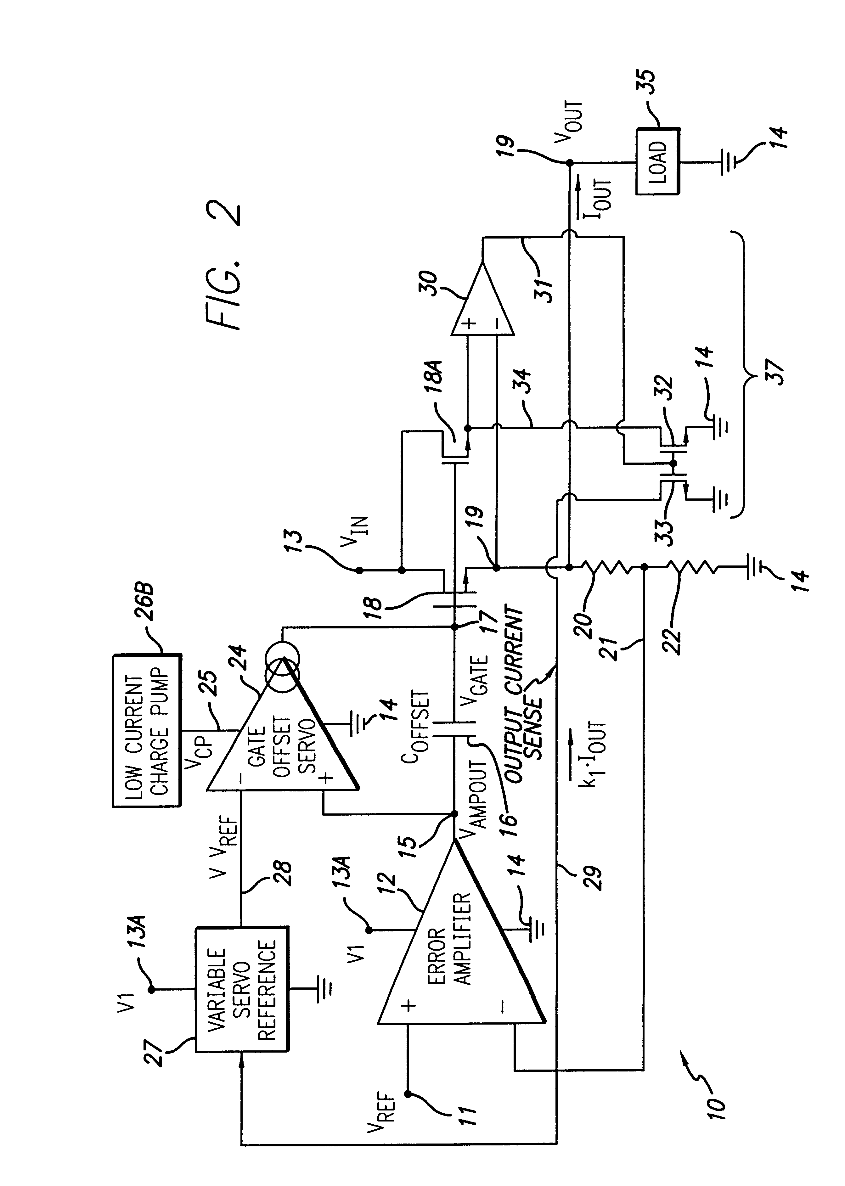 Patent Us6188212 Low Dropout Voltage Regulator Circuit Including Linear Mosfet Schematic Drawing