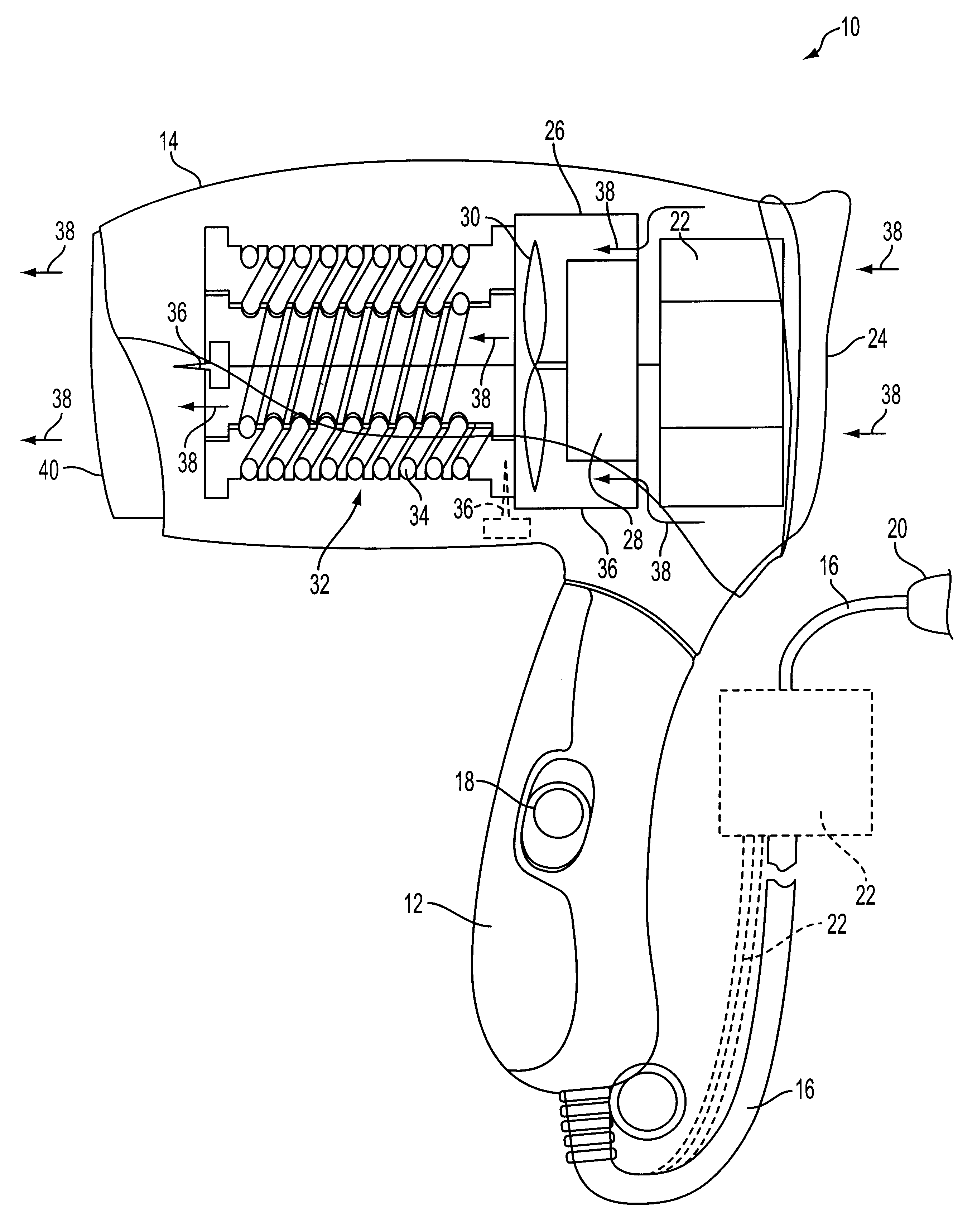 US06191930 20010220 D00000 patent us6191930 ionizing hair dryer google patents Chi Hair Straightener Official Website at couponss.co