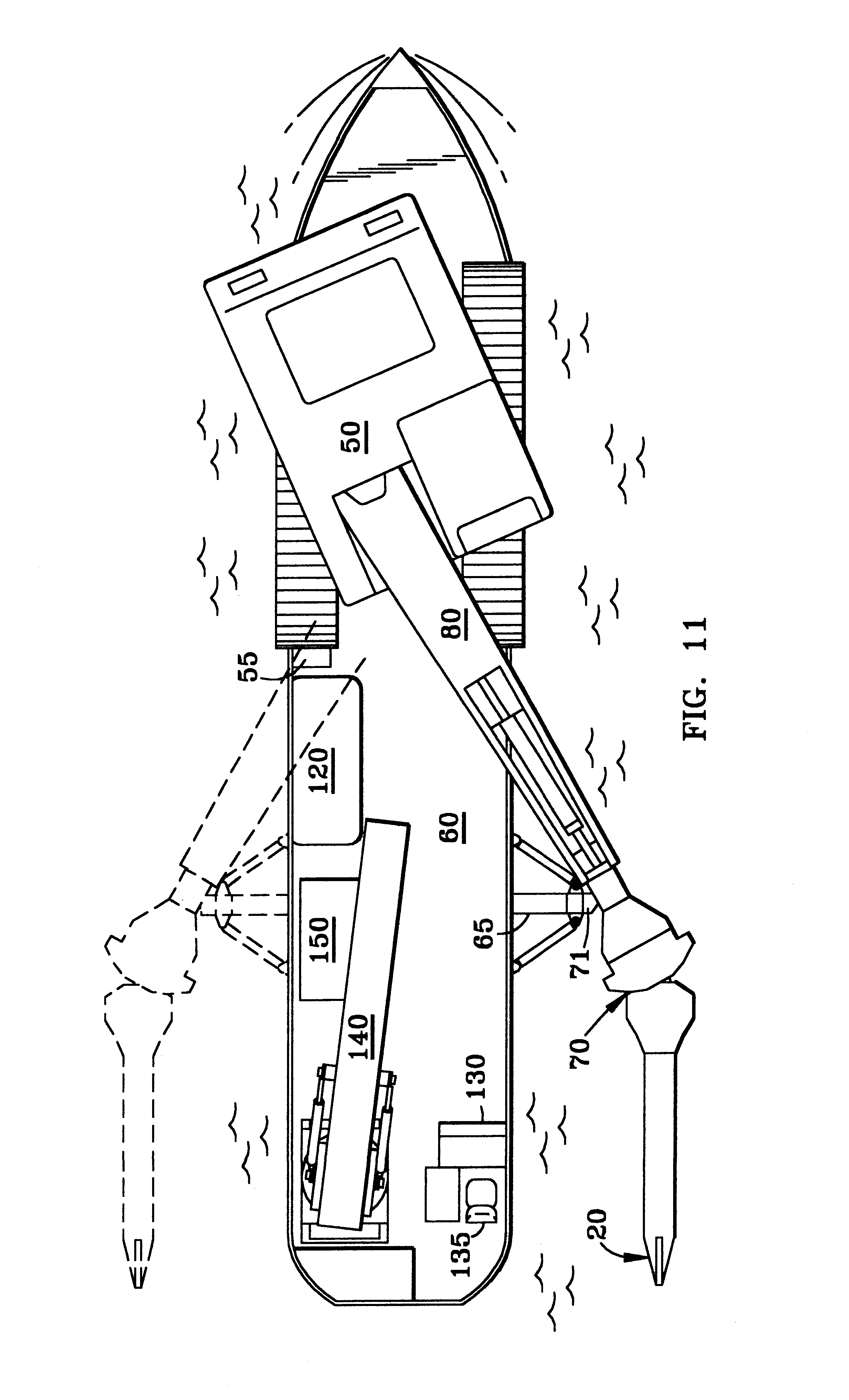 patent us6193440 - railroad cable plow apparatus
