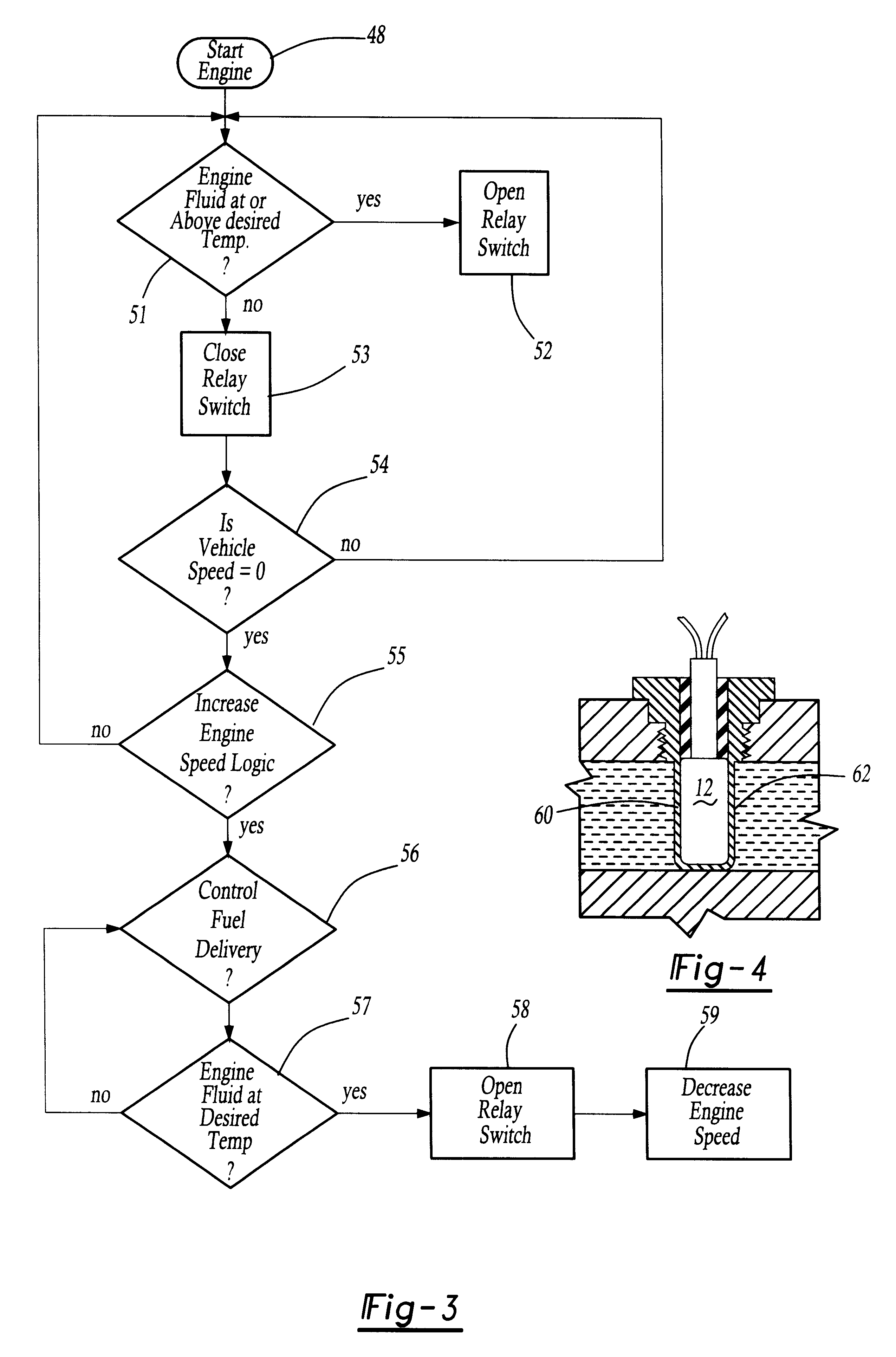 Brevet Us6196177 Electrical System For An Internal Combustion Engine Block Diagram The Diesel Has Patent Drawing