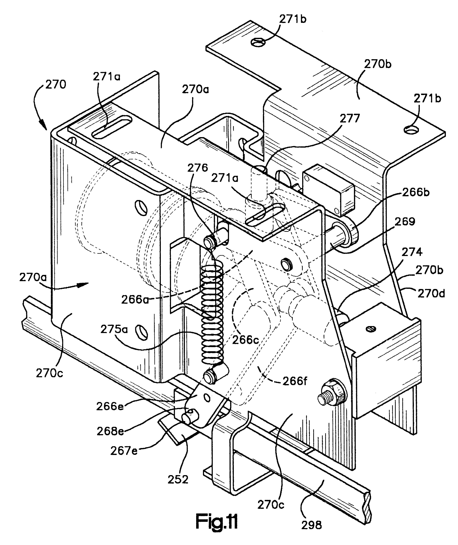 patent us6198062 modular high voltage three phase recloser