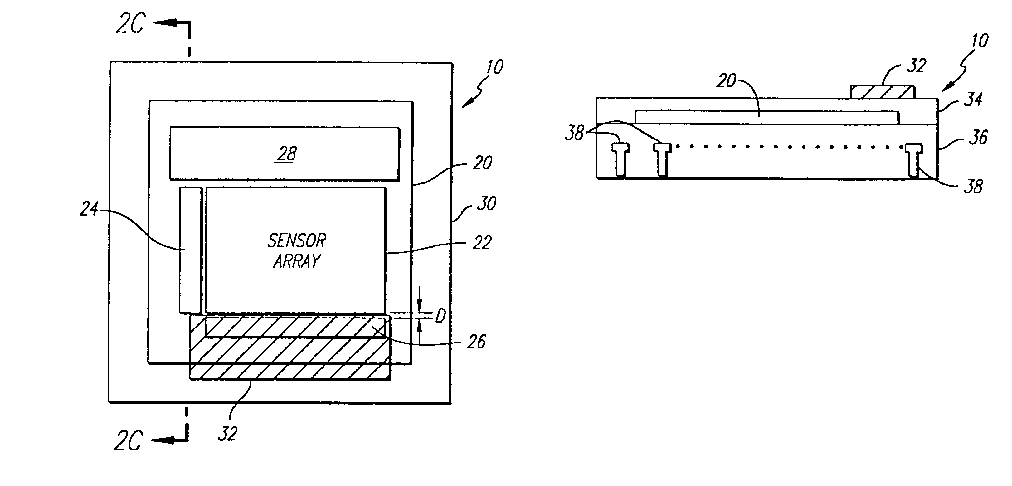 Patent US6198087 - CMOS imager with light shield - Google Patents