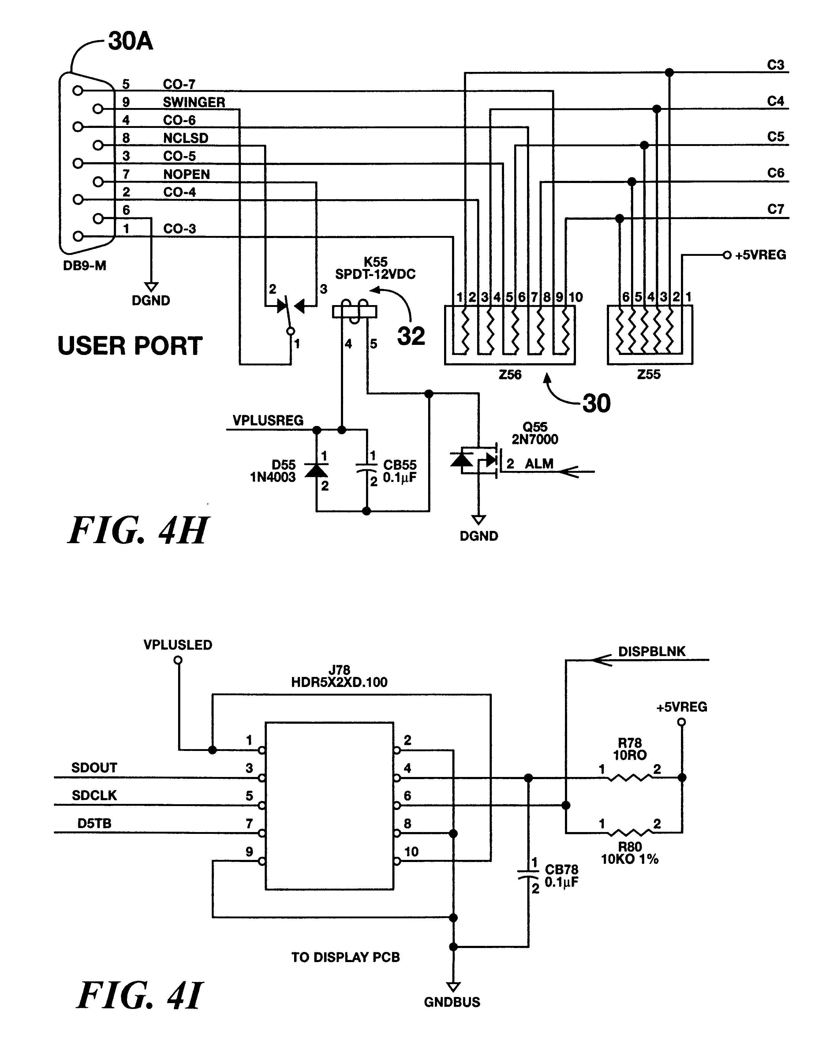 patent us6198403  monitor with led